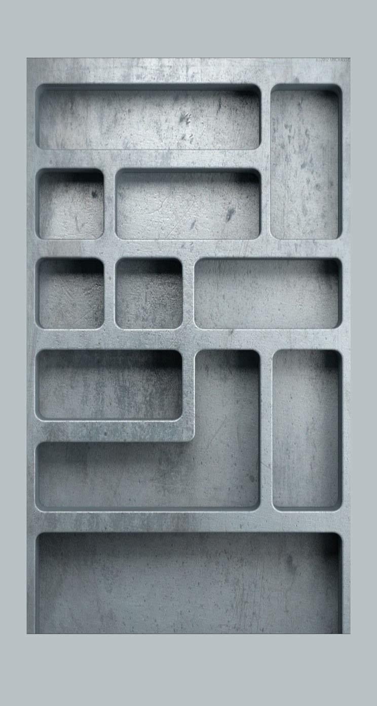 棚クール灰青 Wallpaper Sc Iphone5s Se壁紙