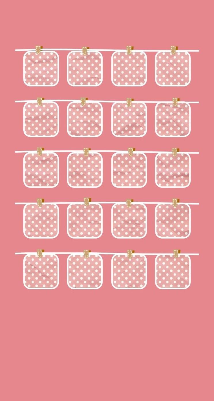 棚桃可愛い女子向け Wallpaper Sc Iphone5s Se壁紙