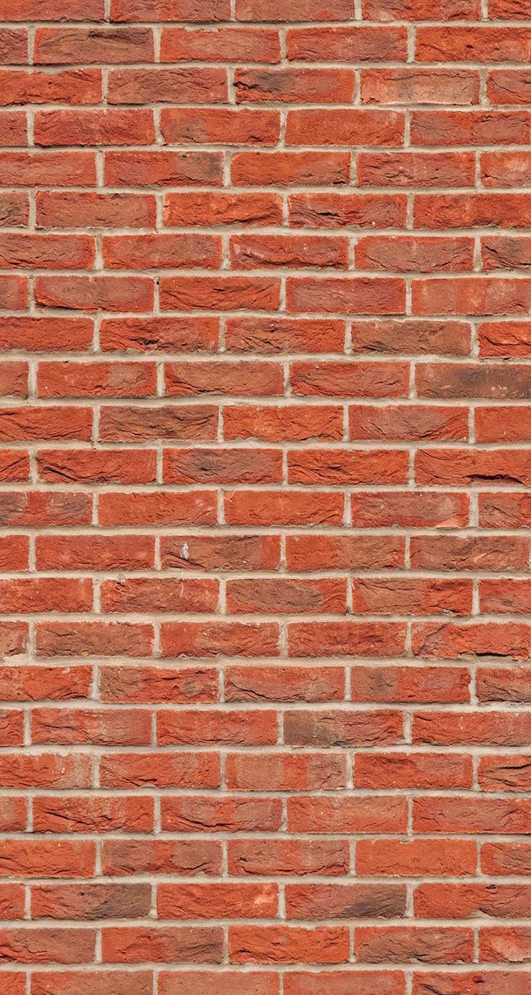 Pattern Brick Vermilion Red