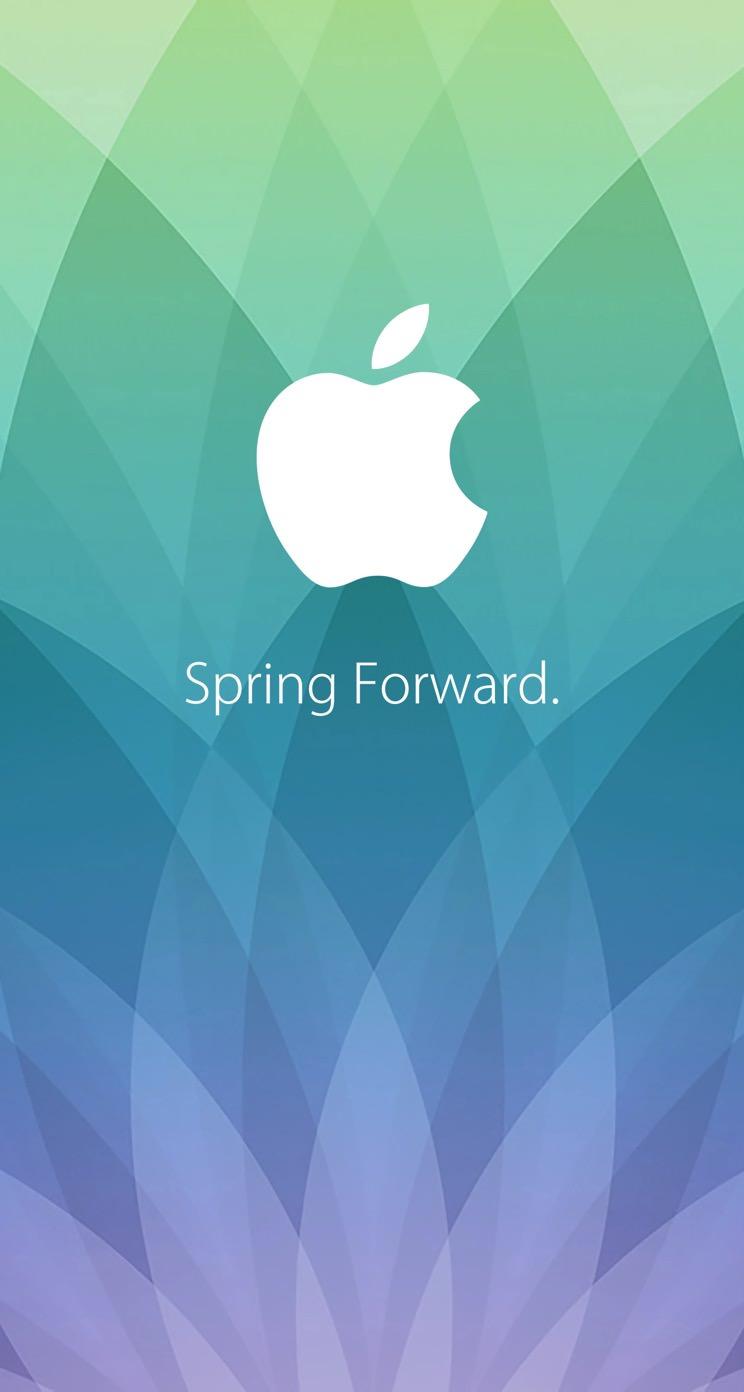 apple logo spring forward. | wallpaper.sc iphone5s,se