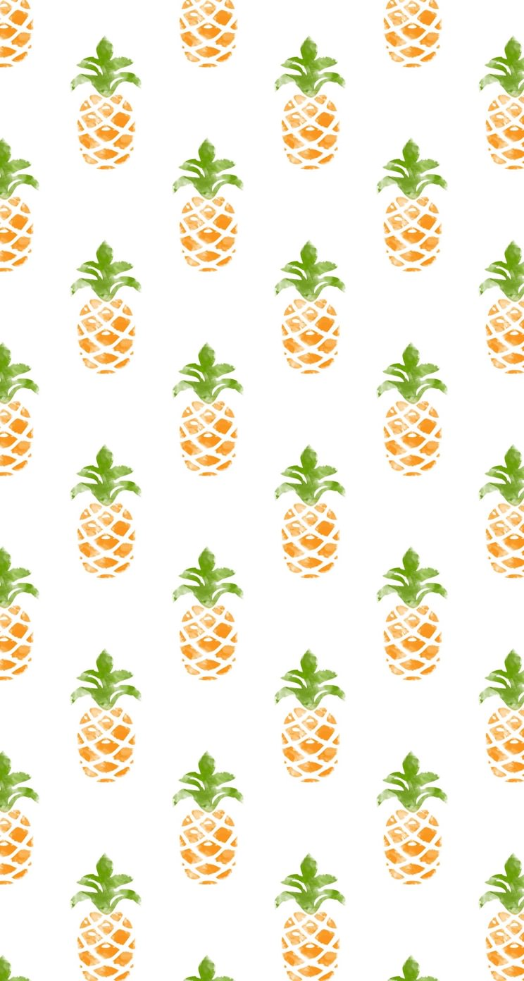 Wallpaper iphone pineapple - Iphone5s Wallpaper