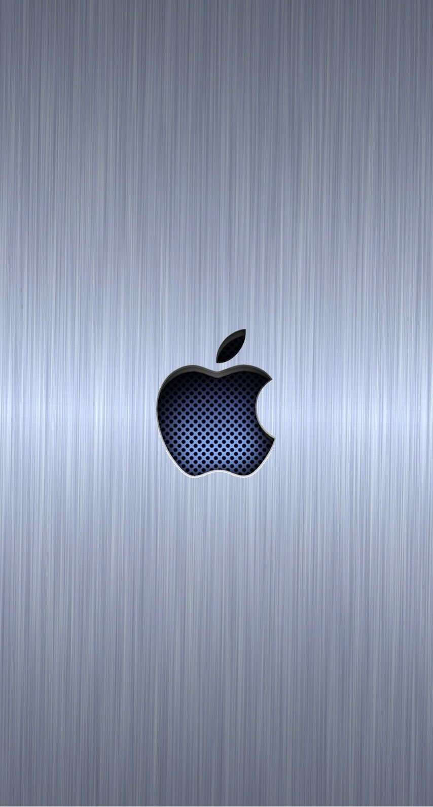 Silver Apple Cool Wallpaper Sc Iphone6s