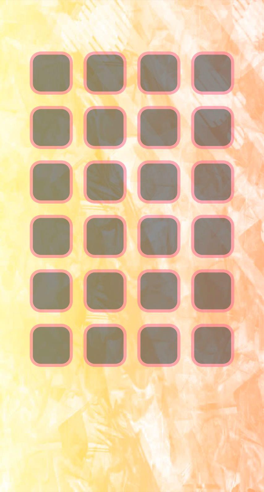 Shelf Pattern Pastel Yellow Orange Wallpaper Sc Iphone6s
