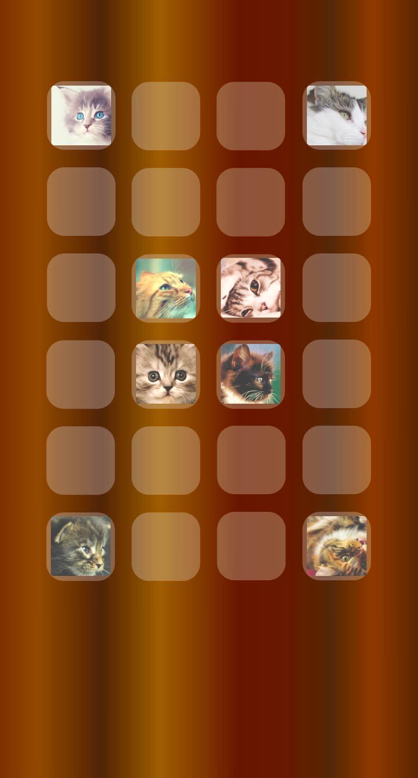 棚猫茶の iPhone6s / iPhone6 壁紙