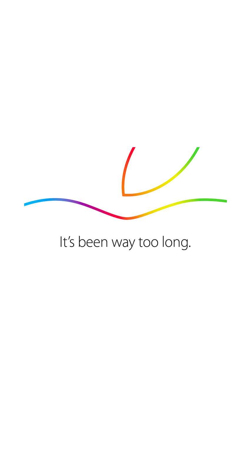 Appleイベント白カラフル Wallpaper Sc Iphone6s壁紙