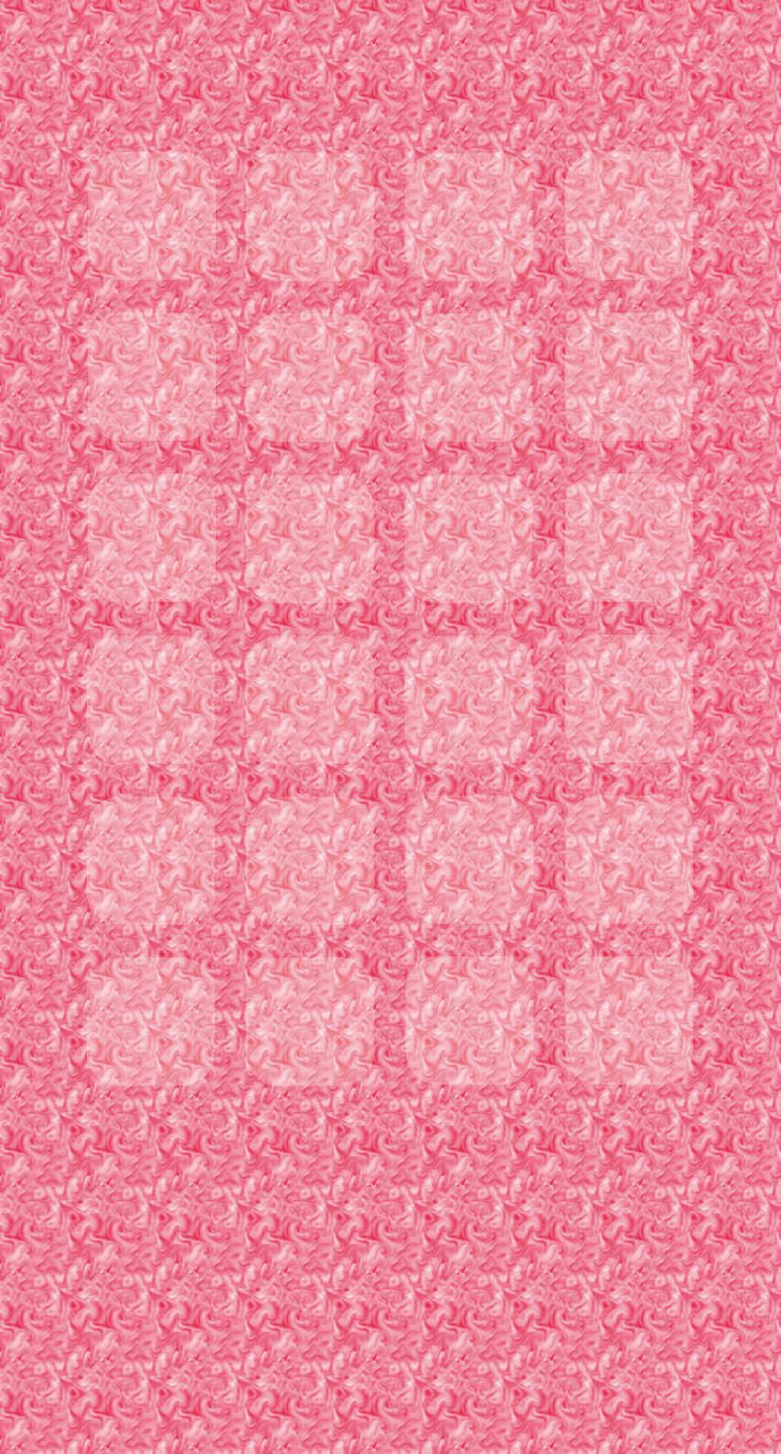 Pattern Red Peach Shelf