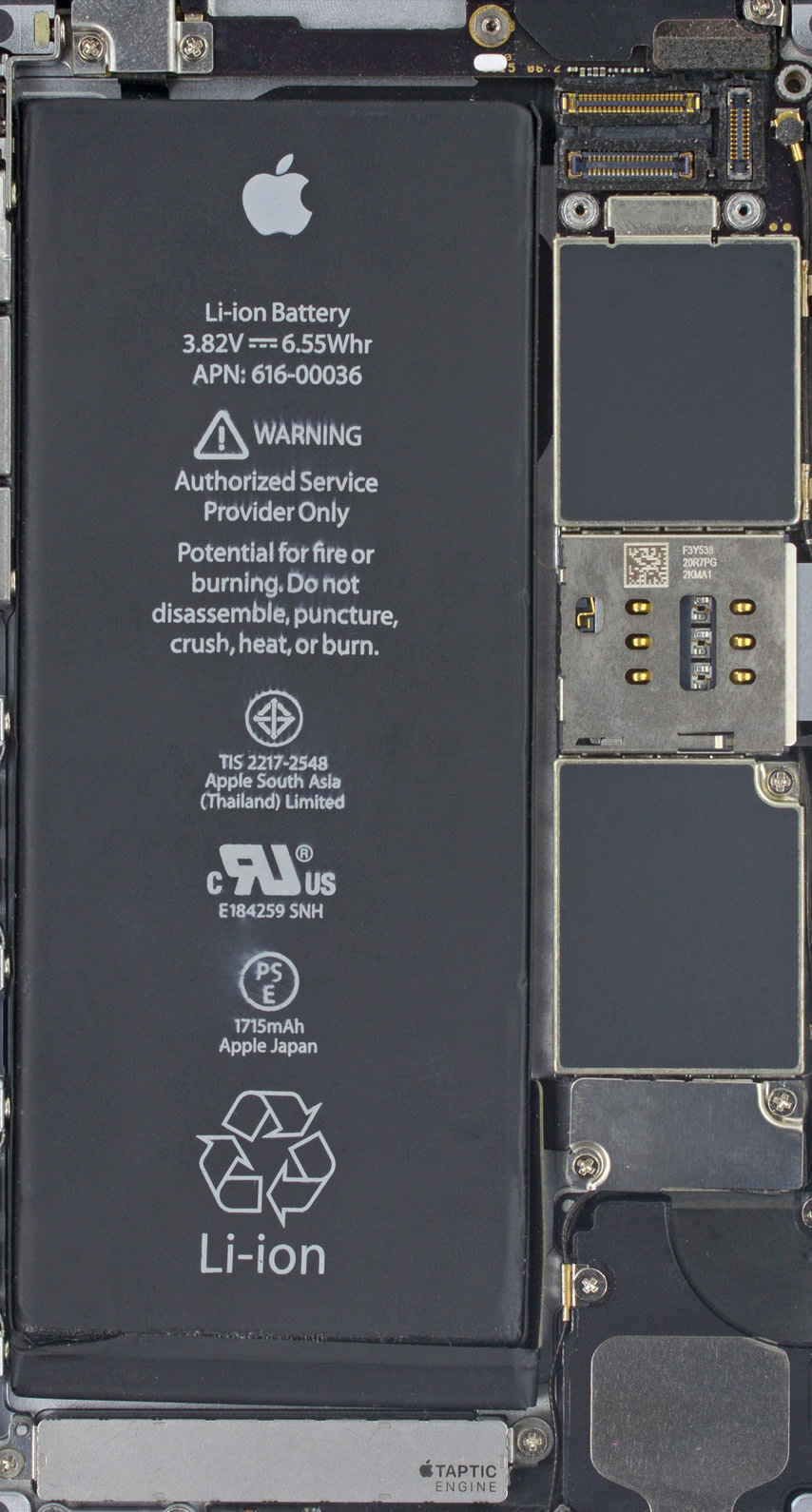 Inside Of An Iphone  Plus