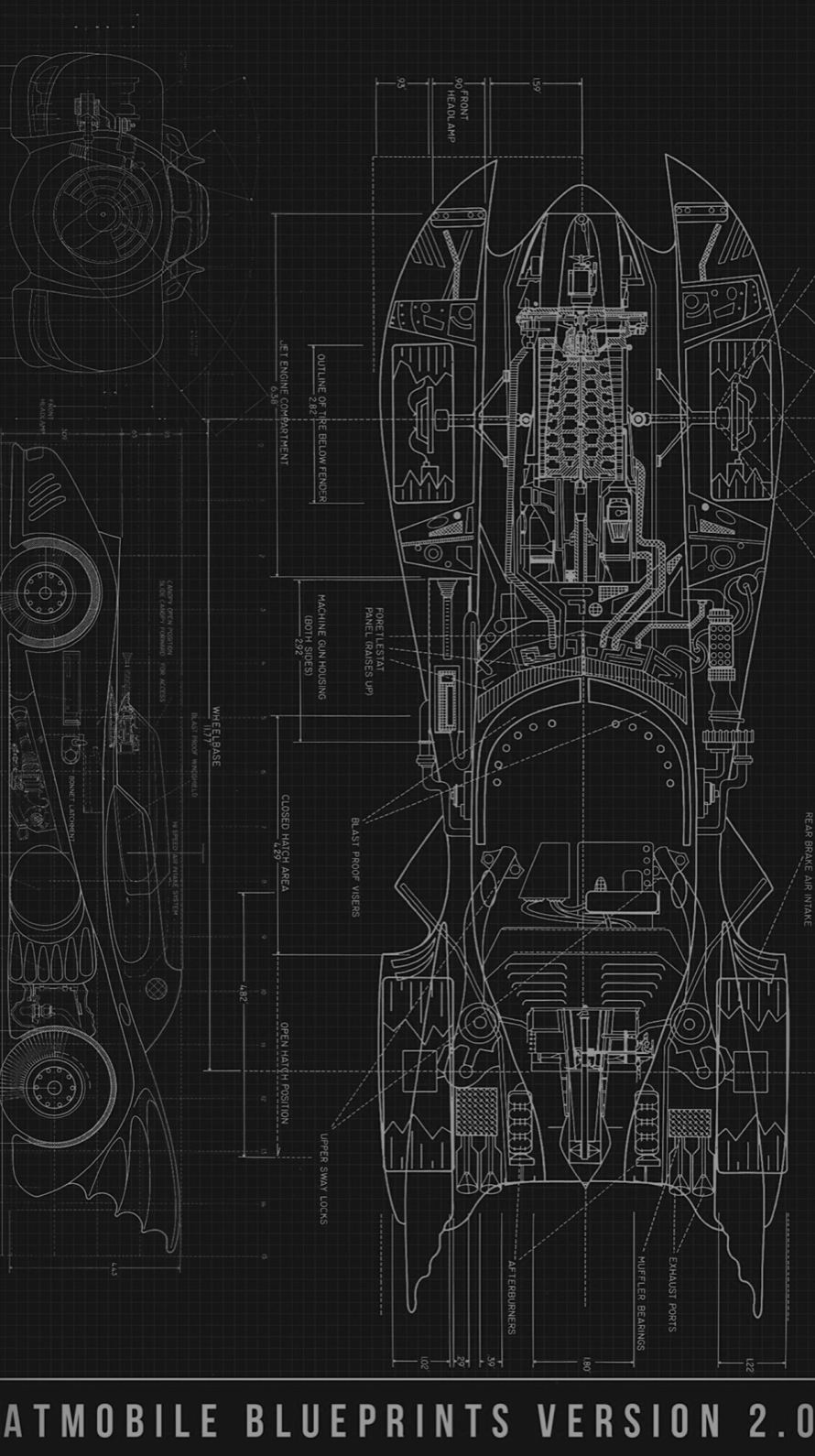 Cool blueprint black wallpaper iphone6s iphone 6s iphone 6 wallpaper malvernweather Gallery