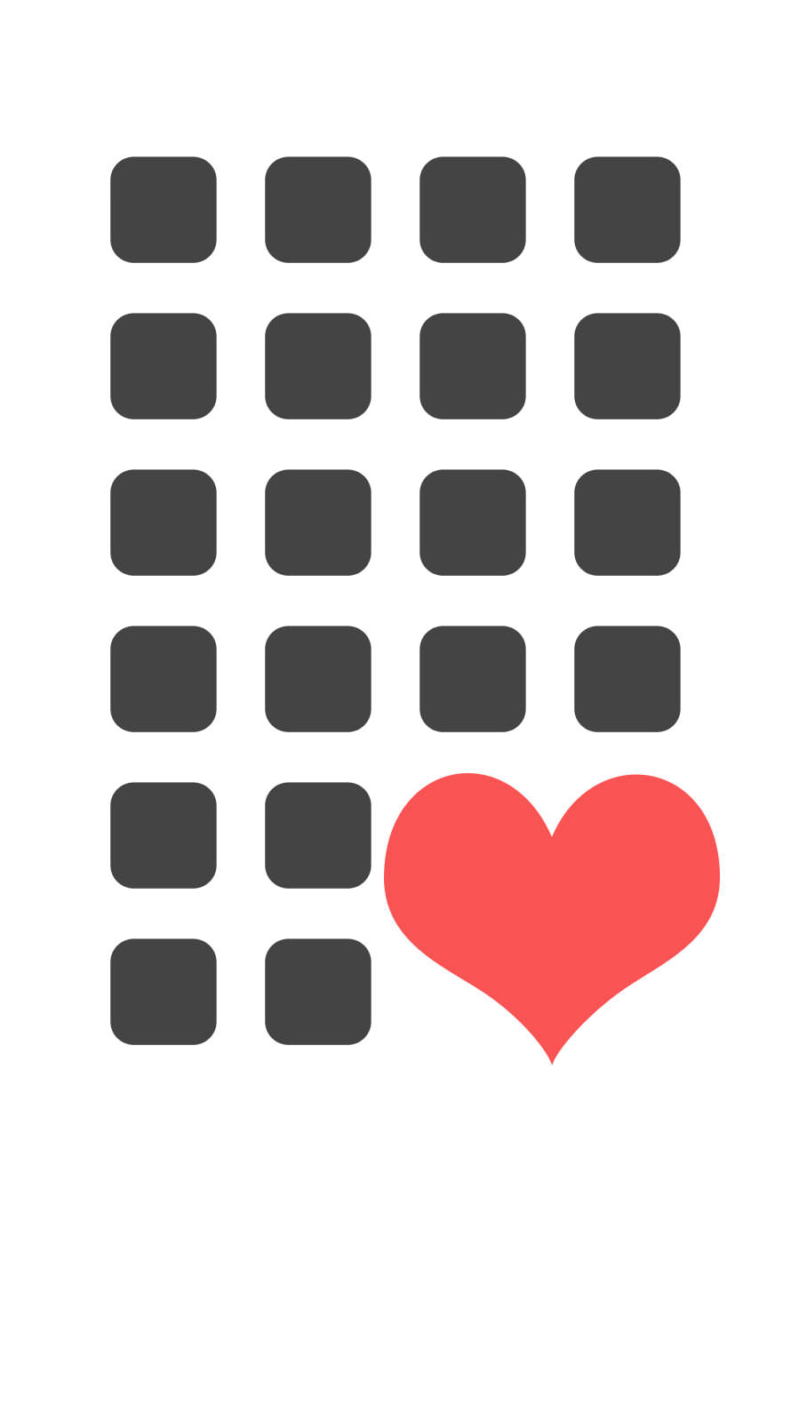 Heart Shelf Black And White Wallpaper Sc Iphone6s