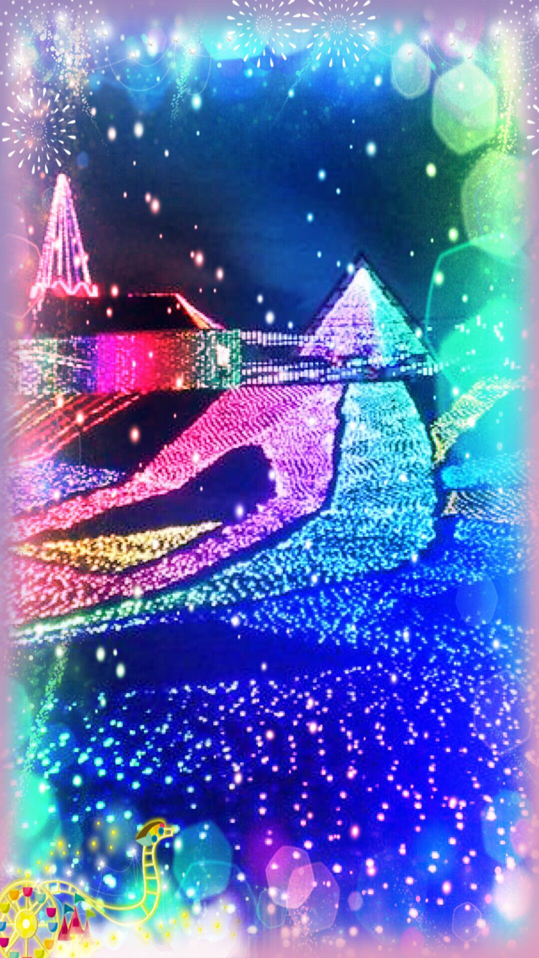 イルミネーション 夜景 Wallpaper Sc Iphone6splus壁紙