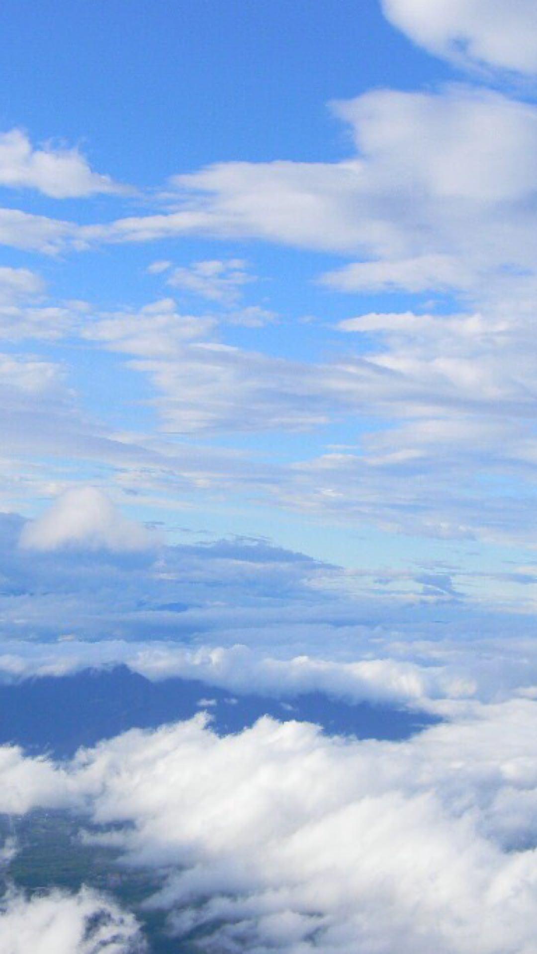 Sky clouds   wallpaper.sc iPhone20sPlus