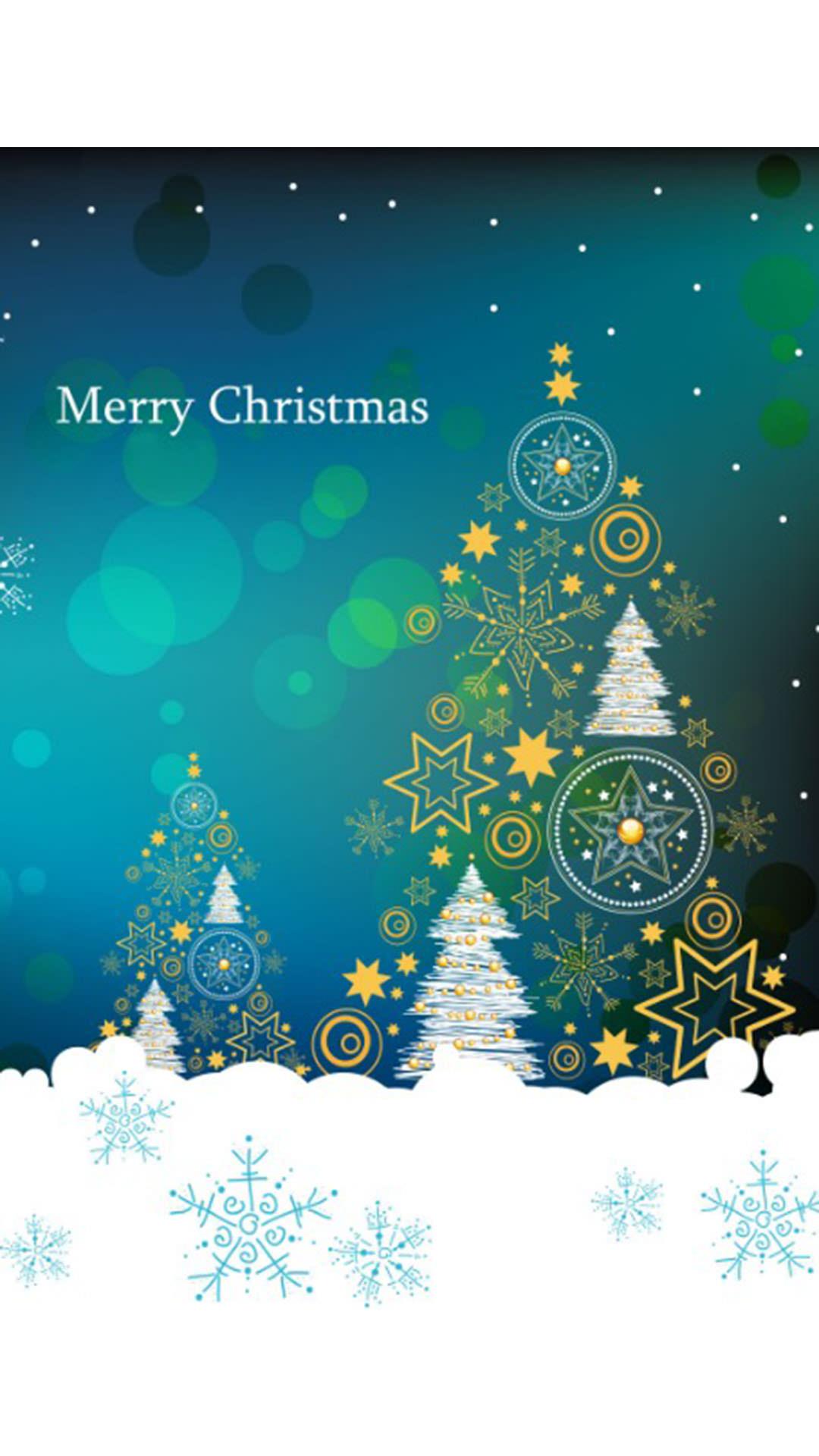 クリスマス ツリー Wallpaper Sc Iphone6splus壁紙