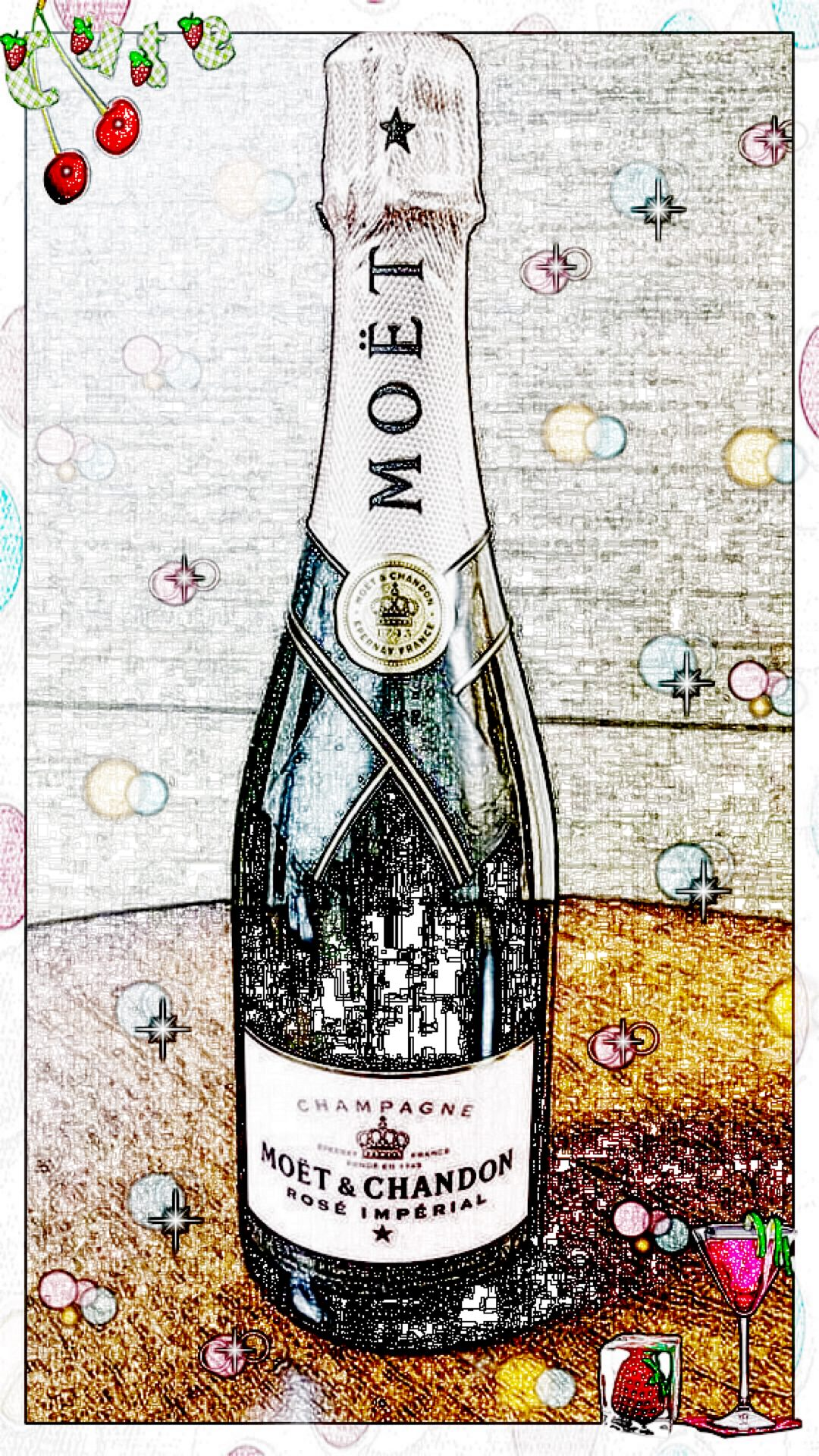 Boceto De Moet Et Chandon Wallpapersc Iphone6splus