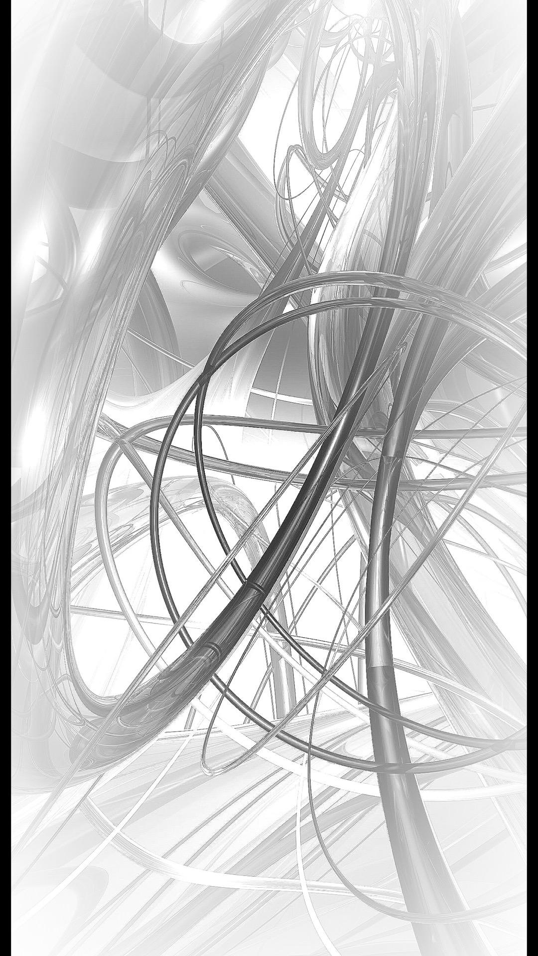 螺旋 ホワイト Wallpaper Sc Iphone6splus壁紙