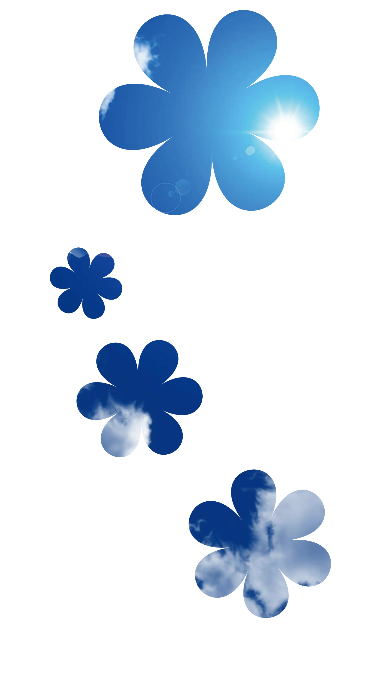 simple blue flower wallpapers - photo #14