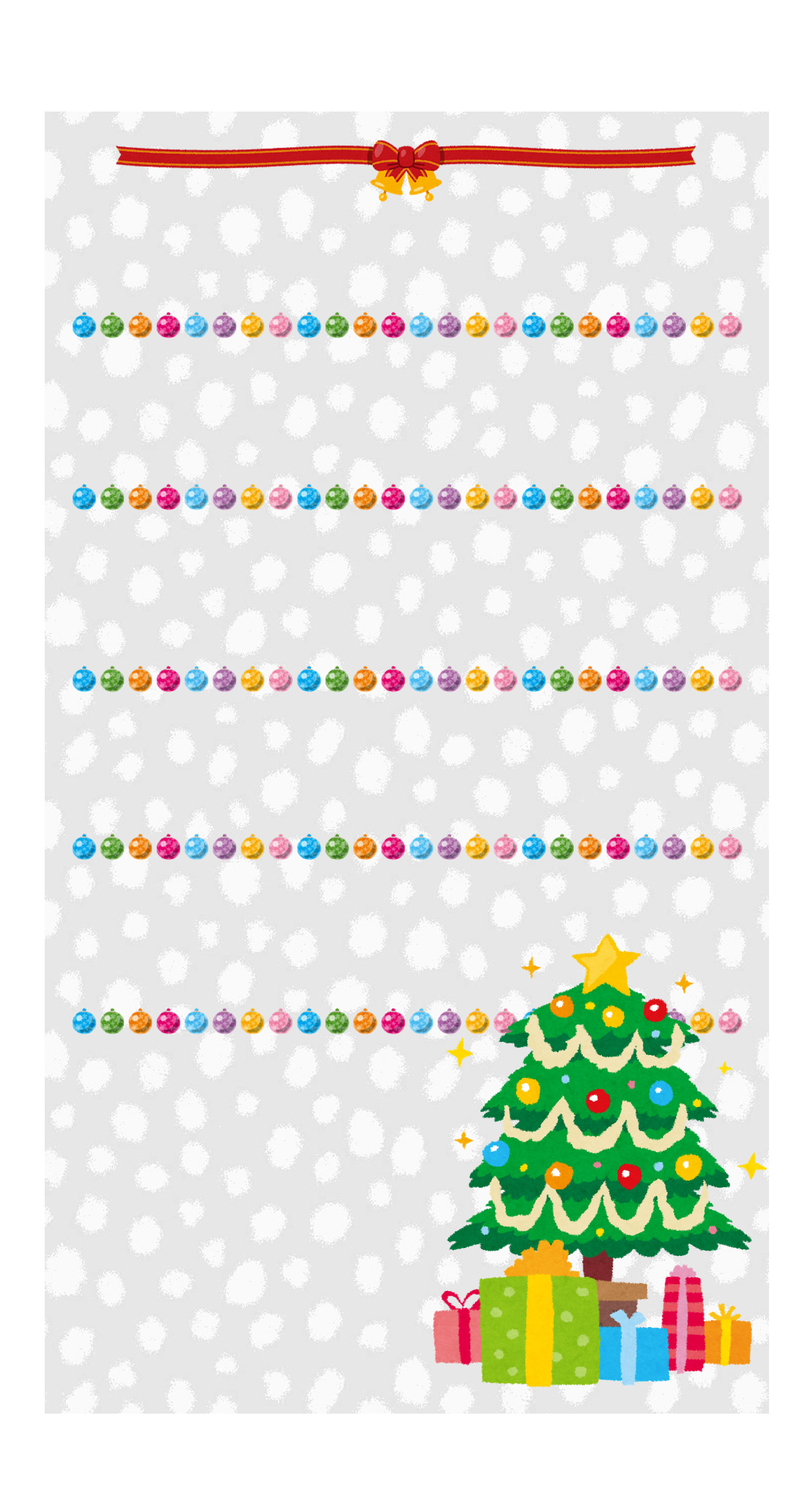 iphone 5 christmas shelf wallpaper