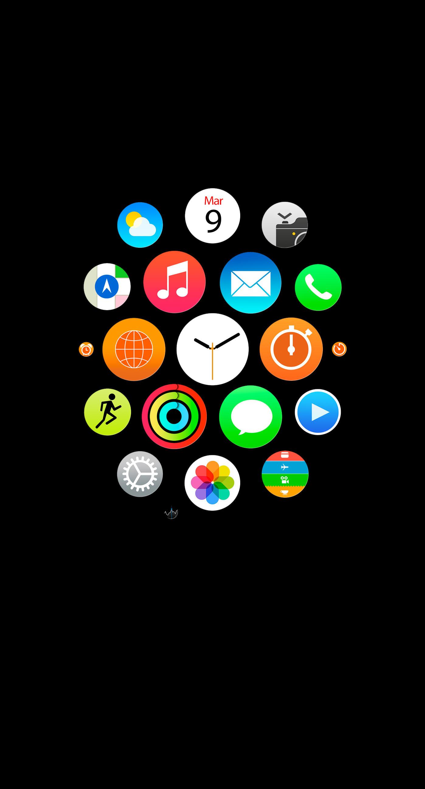 Wallpaper Hitam Iphone 6 Wallpaper Directory