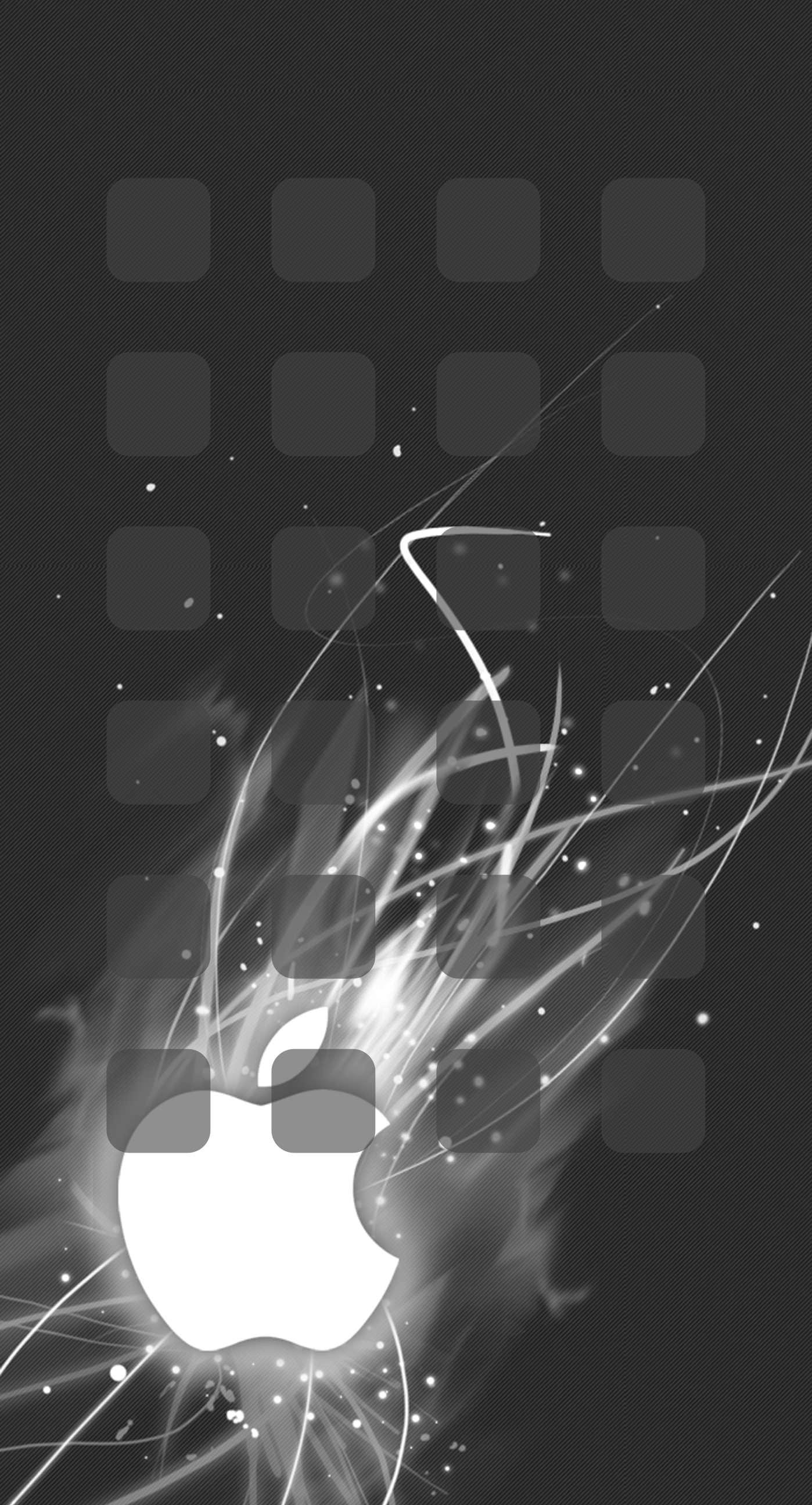 apple logo shelf cool black iphone6splus.