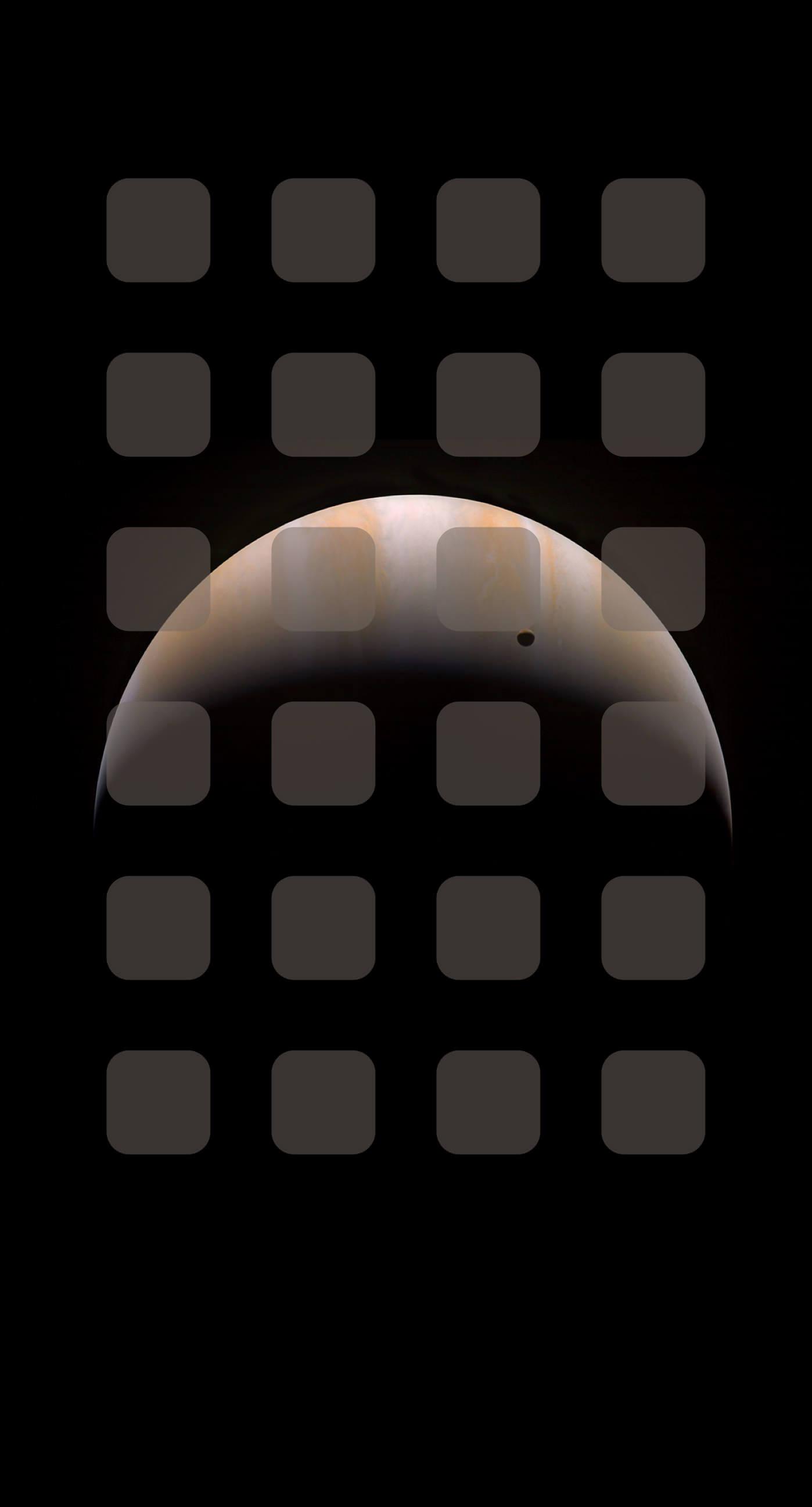 宇宙惑星茶色棚 Wallpaper Sc Iphone6splus壁紙