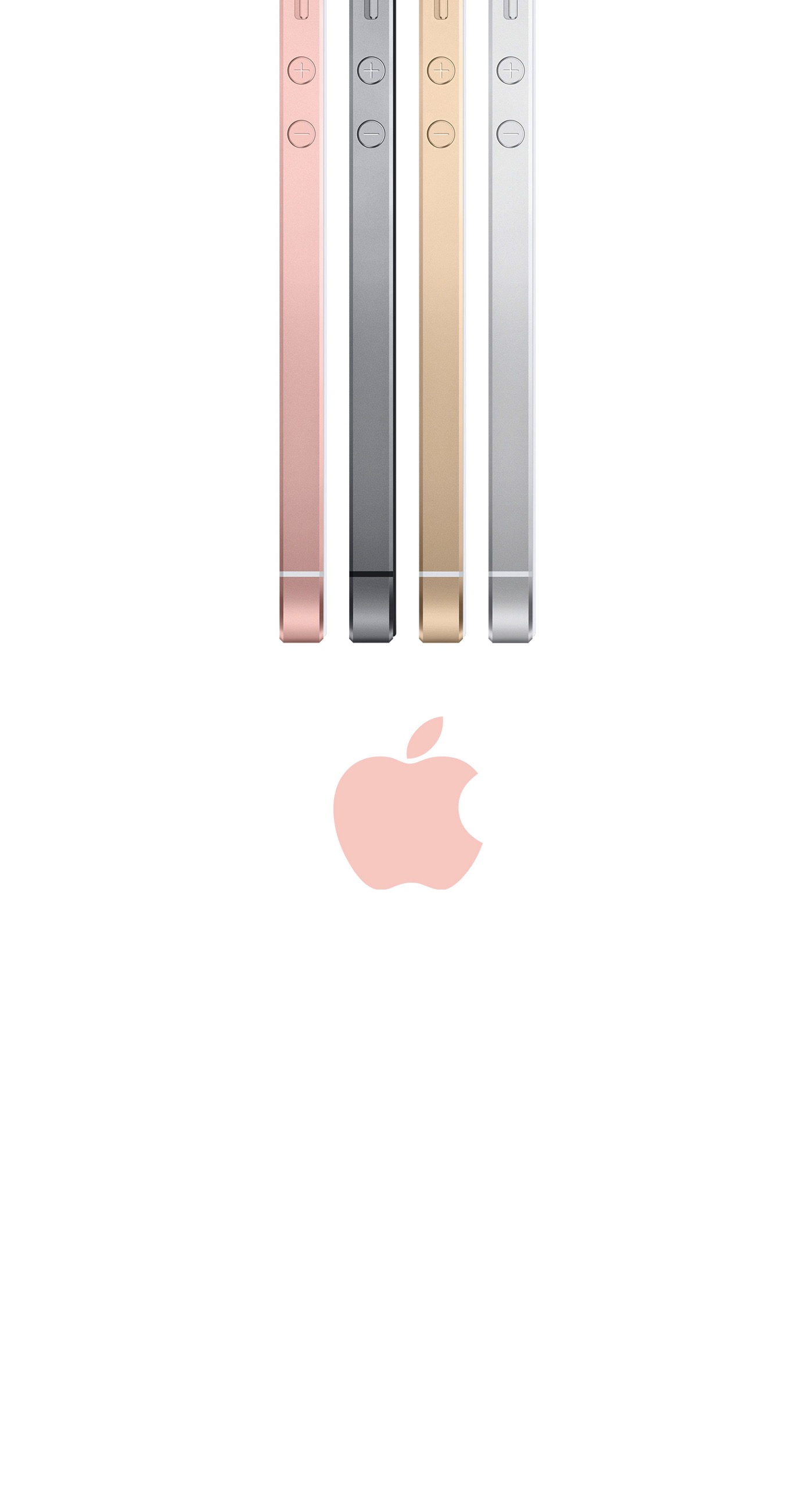 Smartphone Apple Logo Rose Gold Wallpaper Sc Iphone6splus