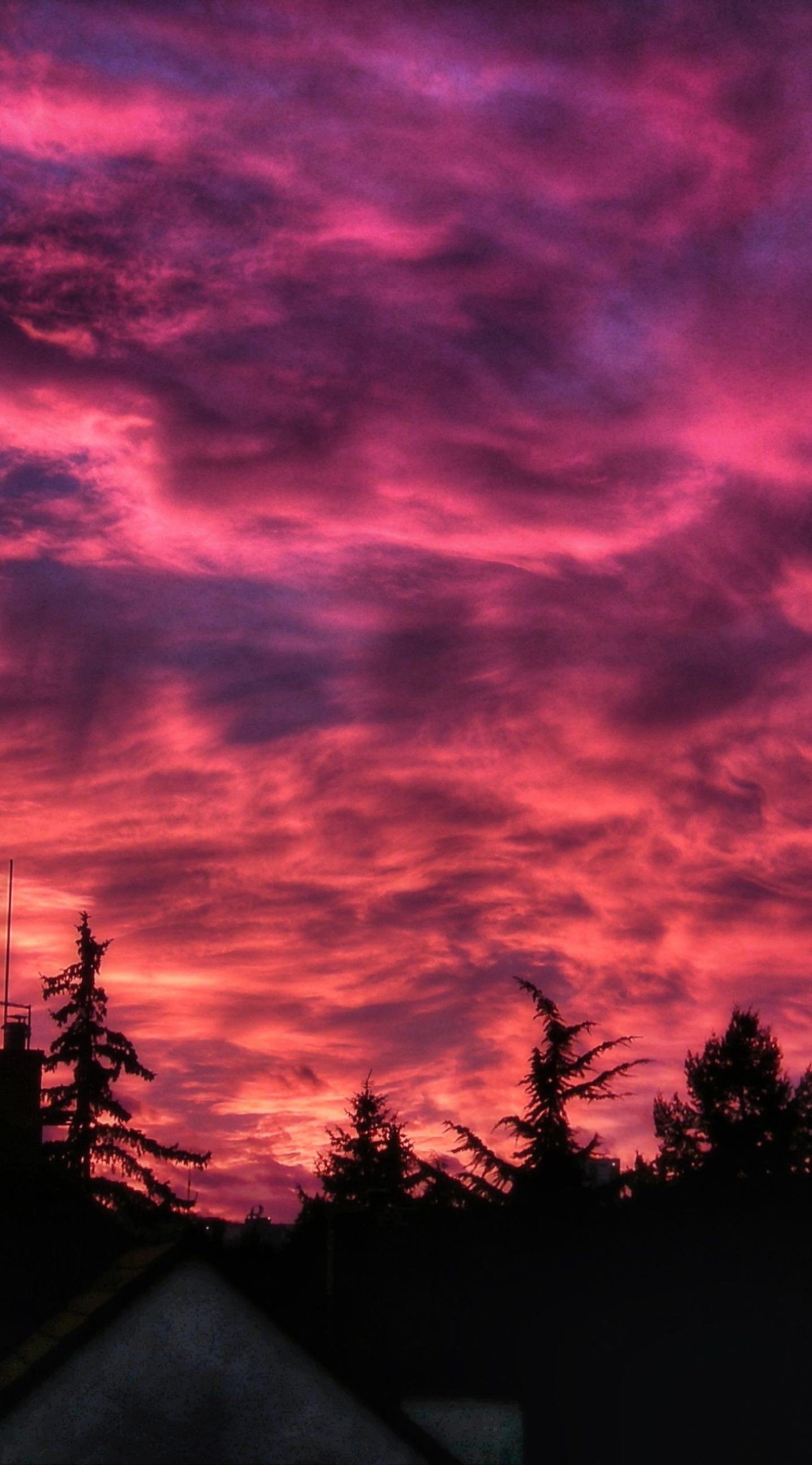 Pemandangan Matahari Terbenam Wallpapersc IPhone6sPlus