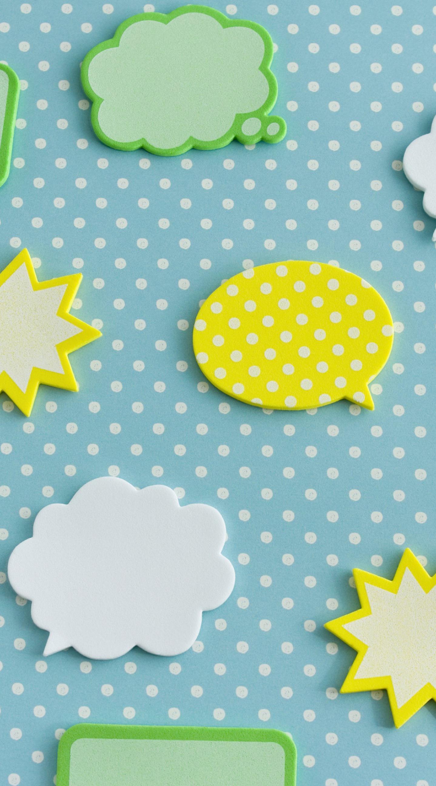 Kuning Hijau Dan Biru Balon Ilustrasi Lucu