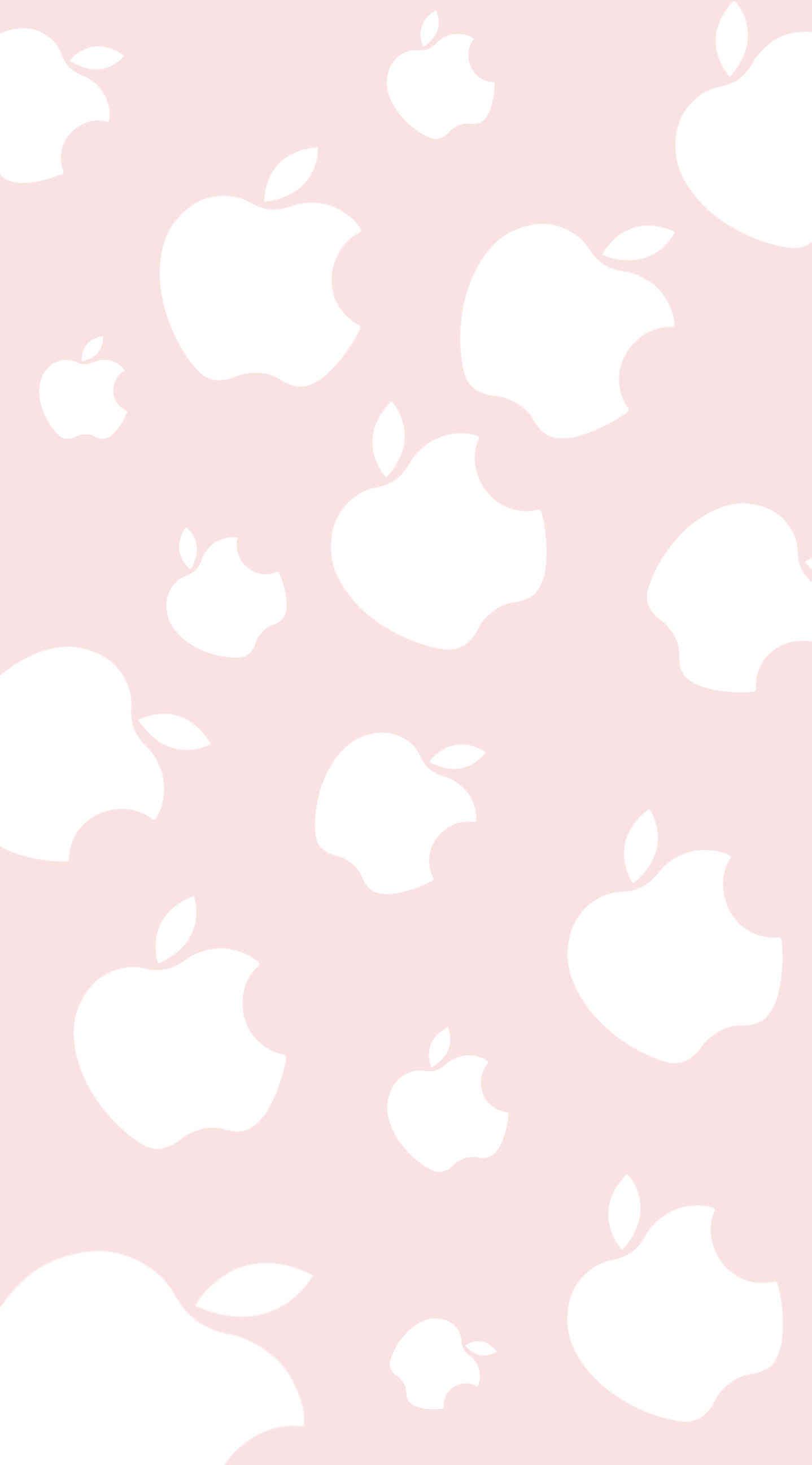 Cute Apple Peach Wallpaper Sc Iphone6splus