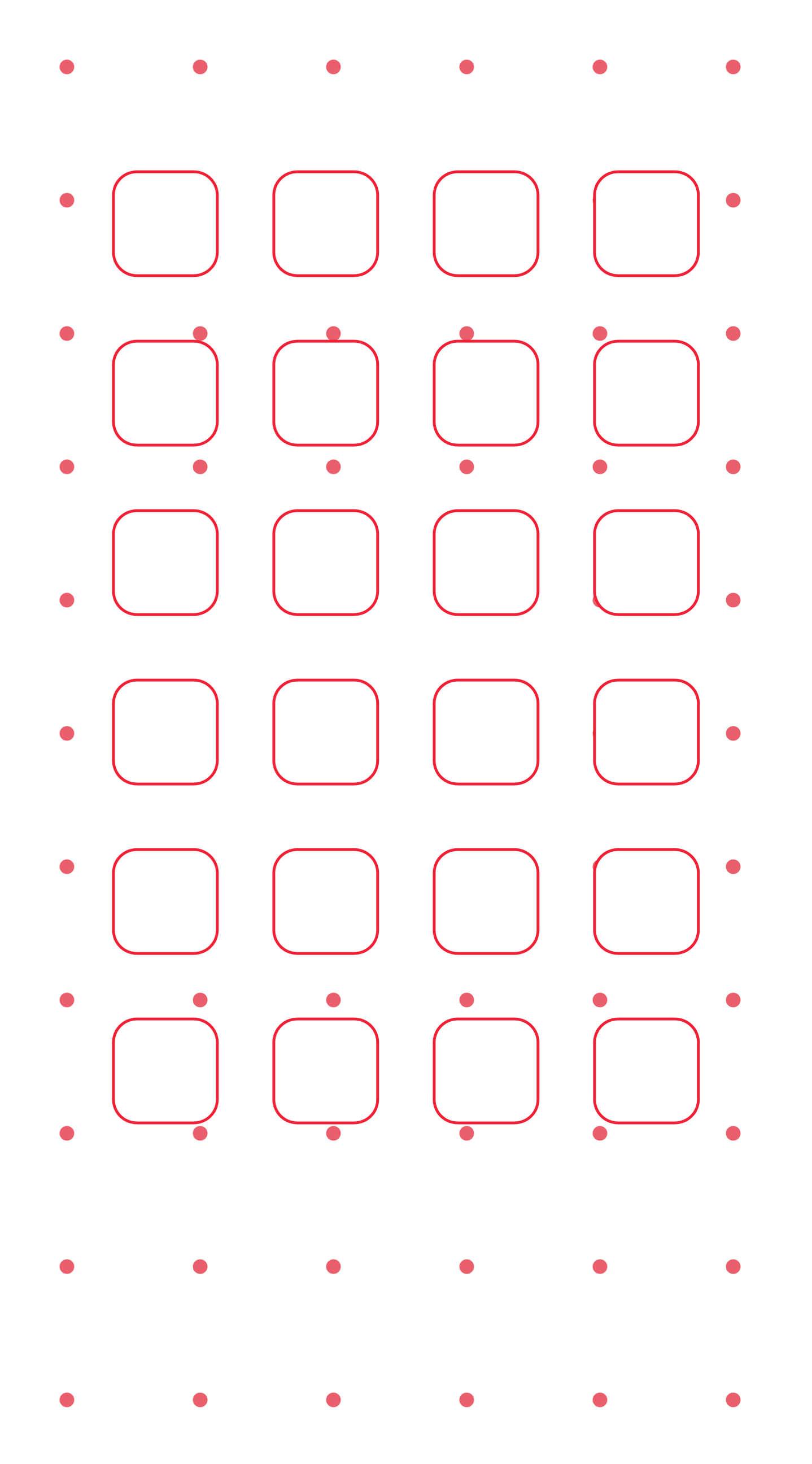 Red And White Dot Pattern Shelf Wallpaper Sc Iphone6splus