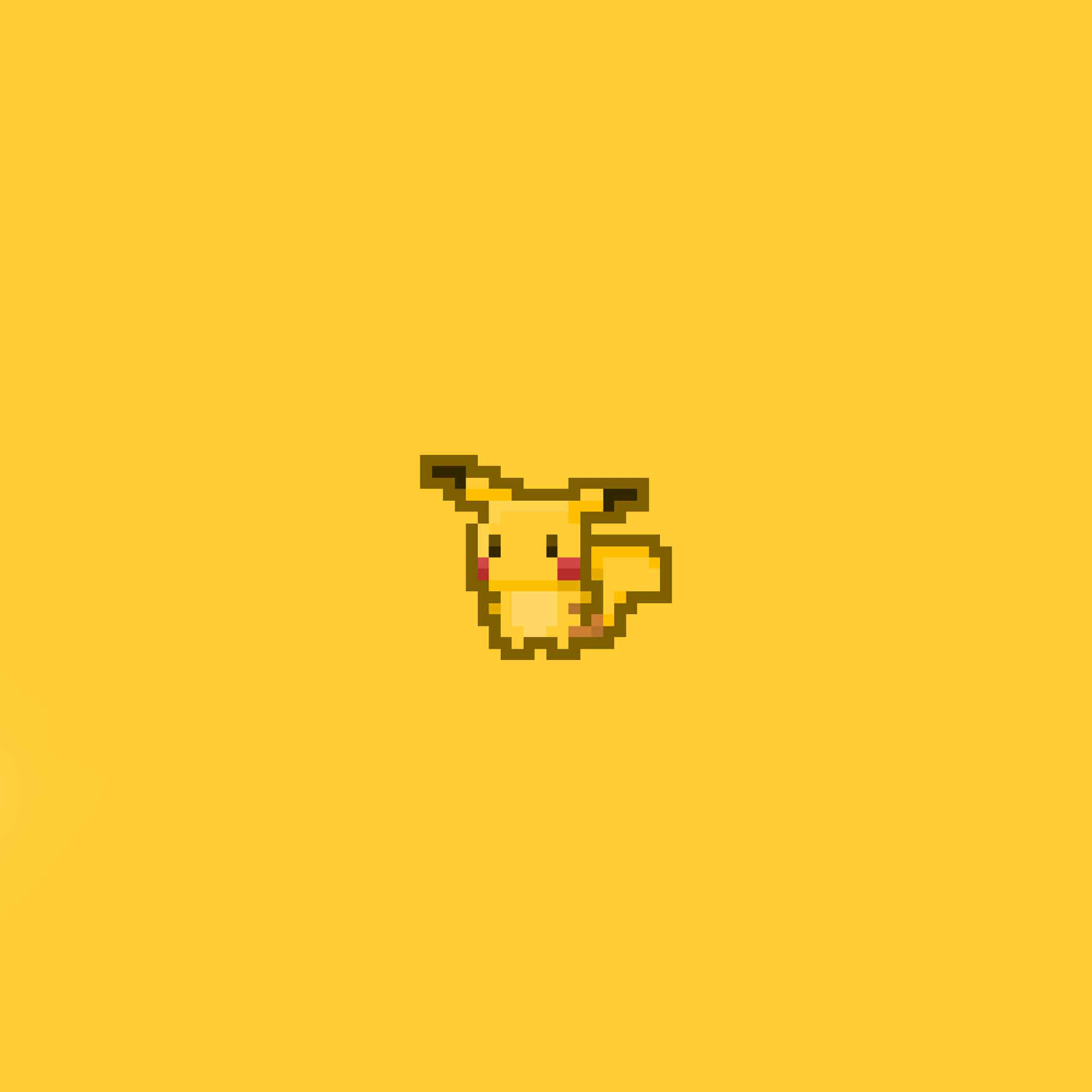 Wallpaper iphone kuning - Pikachu Permainan Kuning