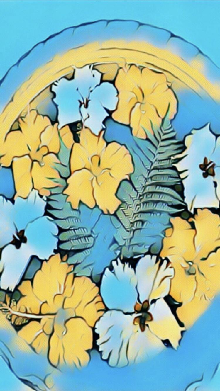 ハイビスカス トロピカル Wallpaper Sc Iphone7壁紙