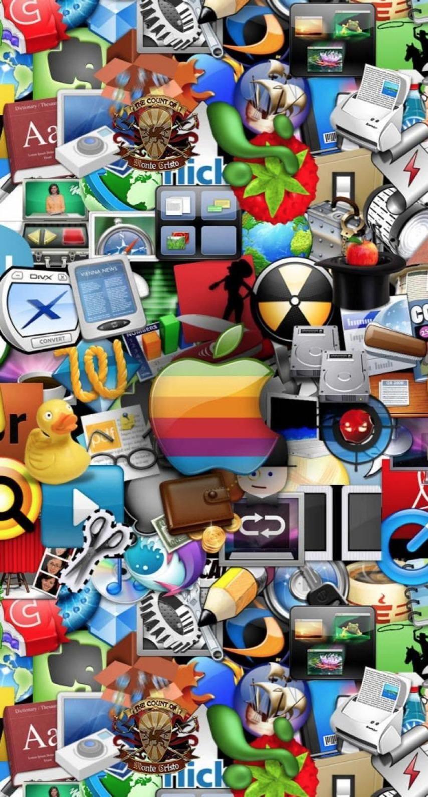 Ikon Apple Wallpaper Sc Iphone7