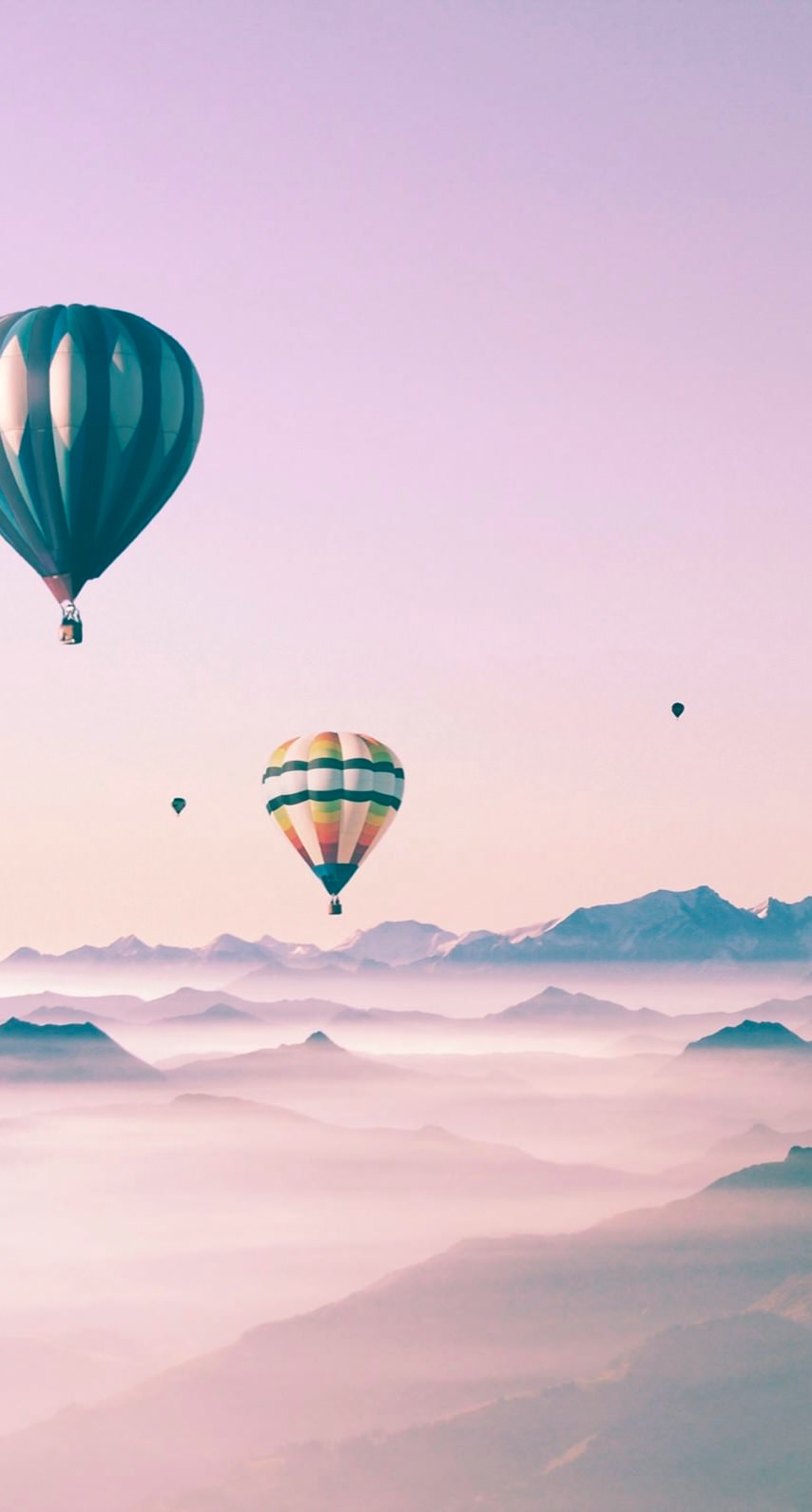 Cute Landscape Sky Balloon For Girls Wallpaper Sc Iphone7