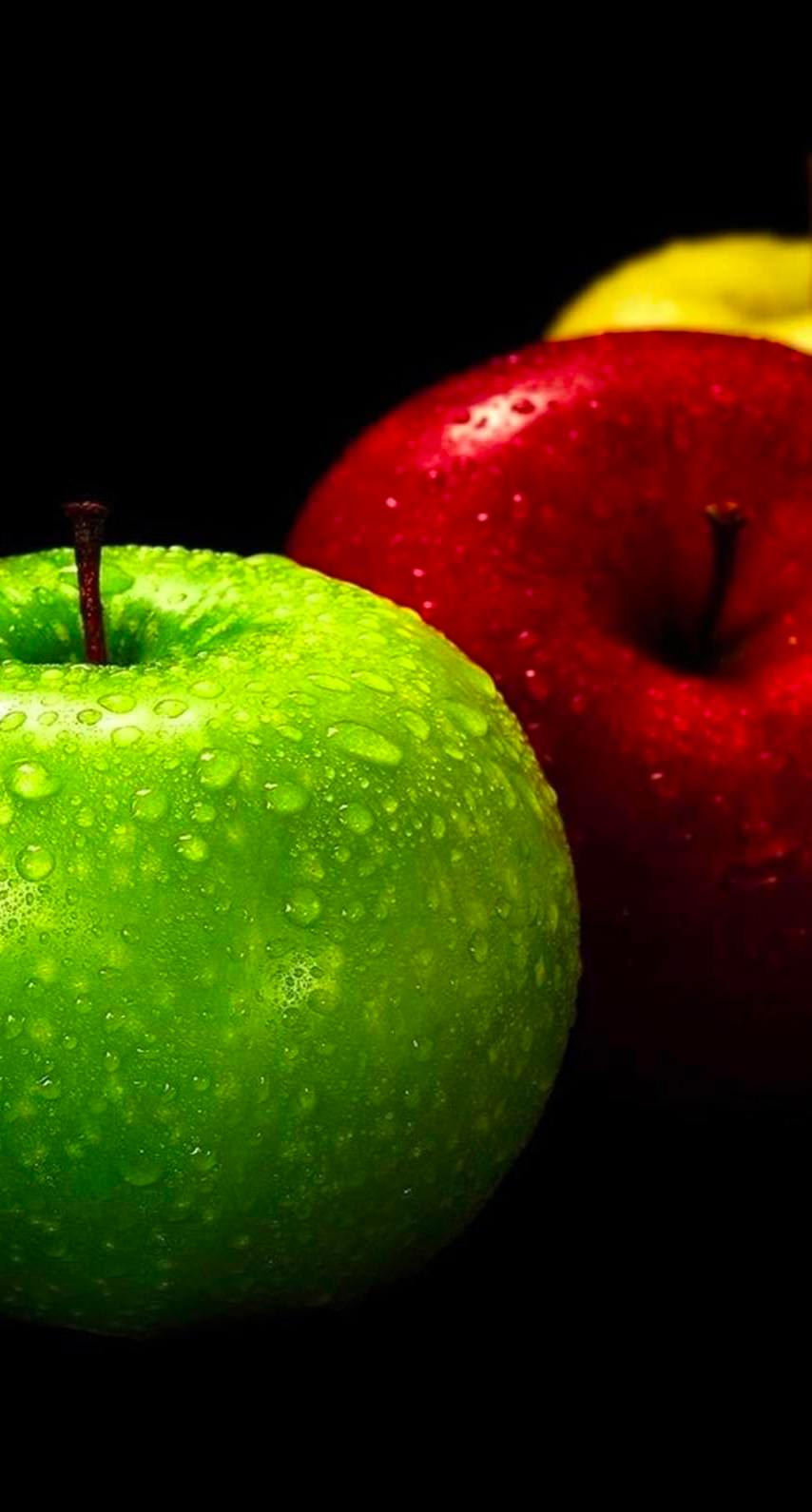 Apple Green Red Yellow Black Cool Wallpaper Sc Iphone7