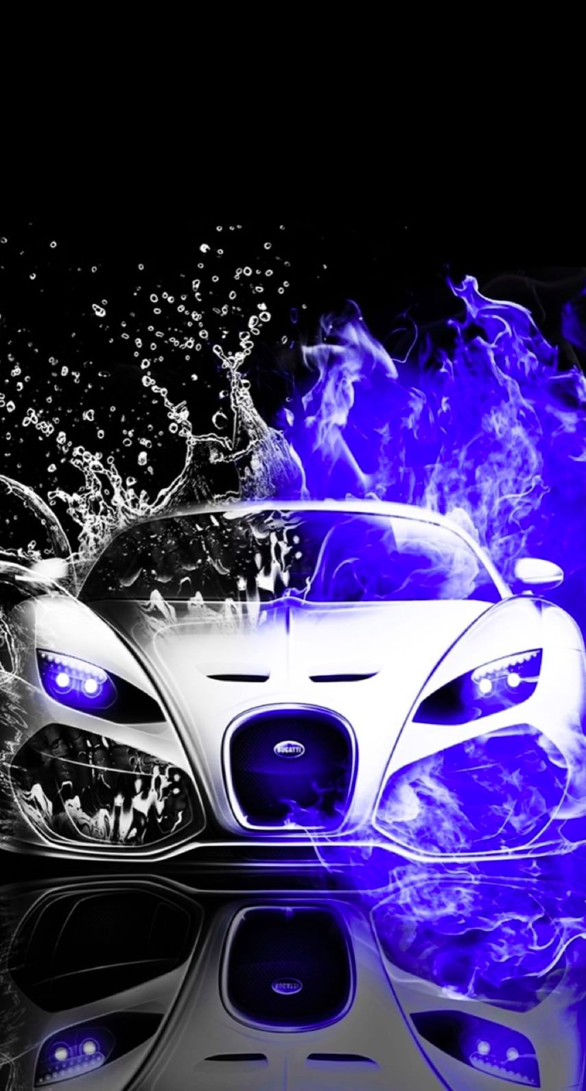 Cool Cars Blue Water Black And White Wallpaper Sc Iphone7