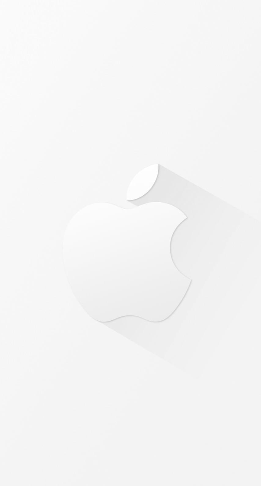 Cool White Apple Logo Wallpaper Sc Iphone7