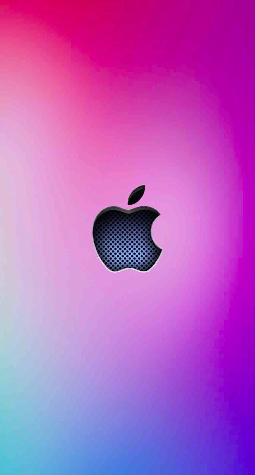 Logo Wallpaper Sc Iphone7 Apple Keren Biru Gin Ungu Gambar