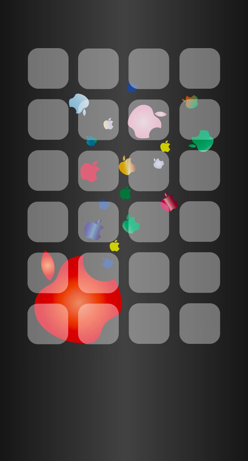 Wallpaper iphone hitam - Rak Logo Apple Hitam Iphone7 Wallpaper
