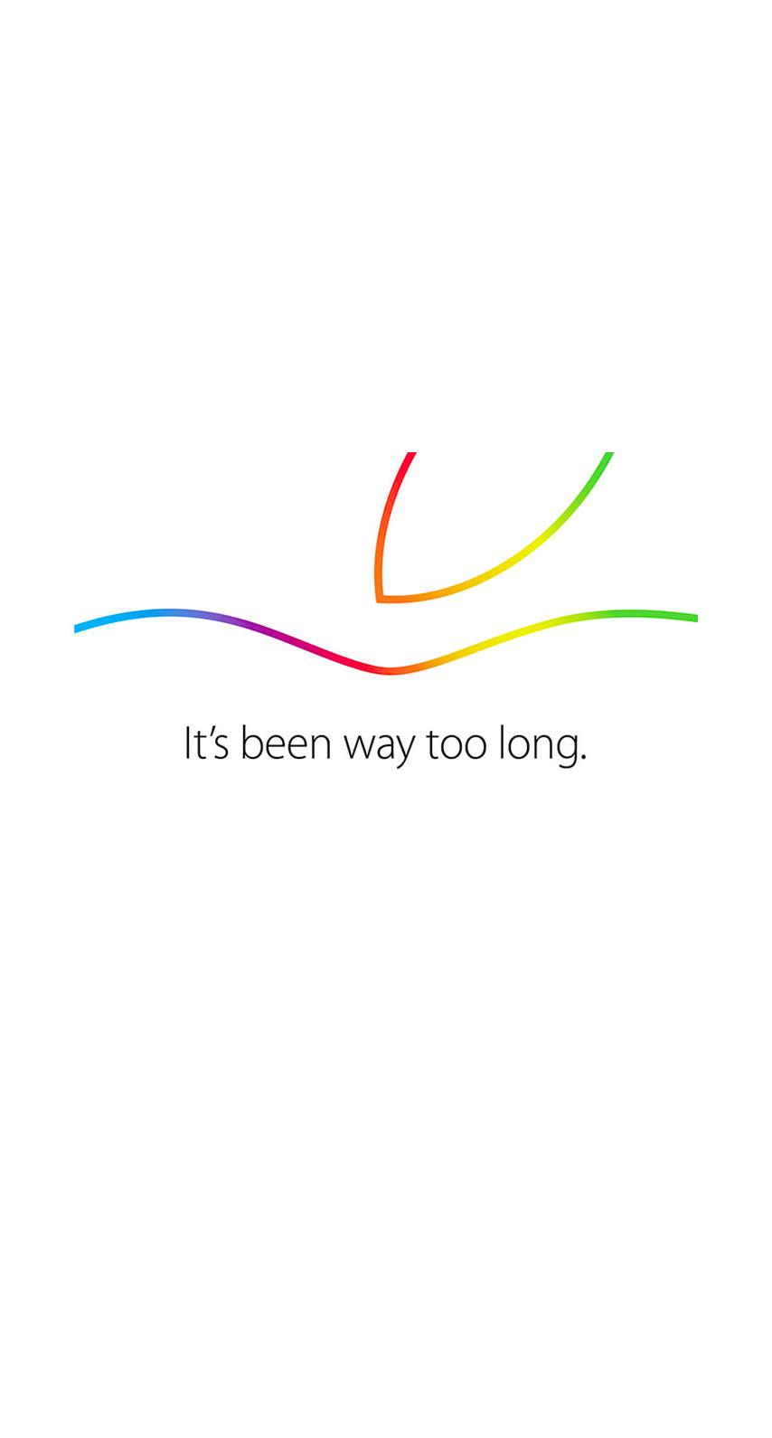 Apple Event White Colorful
