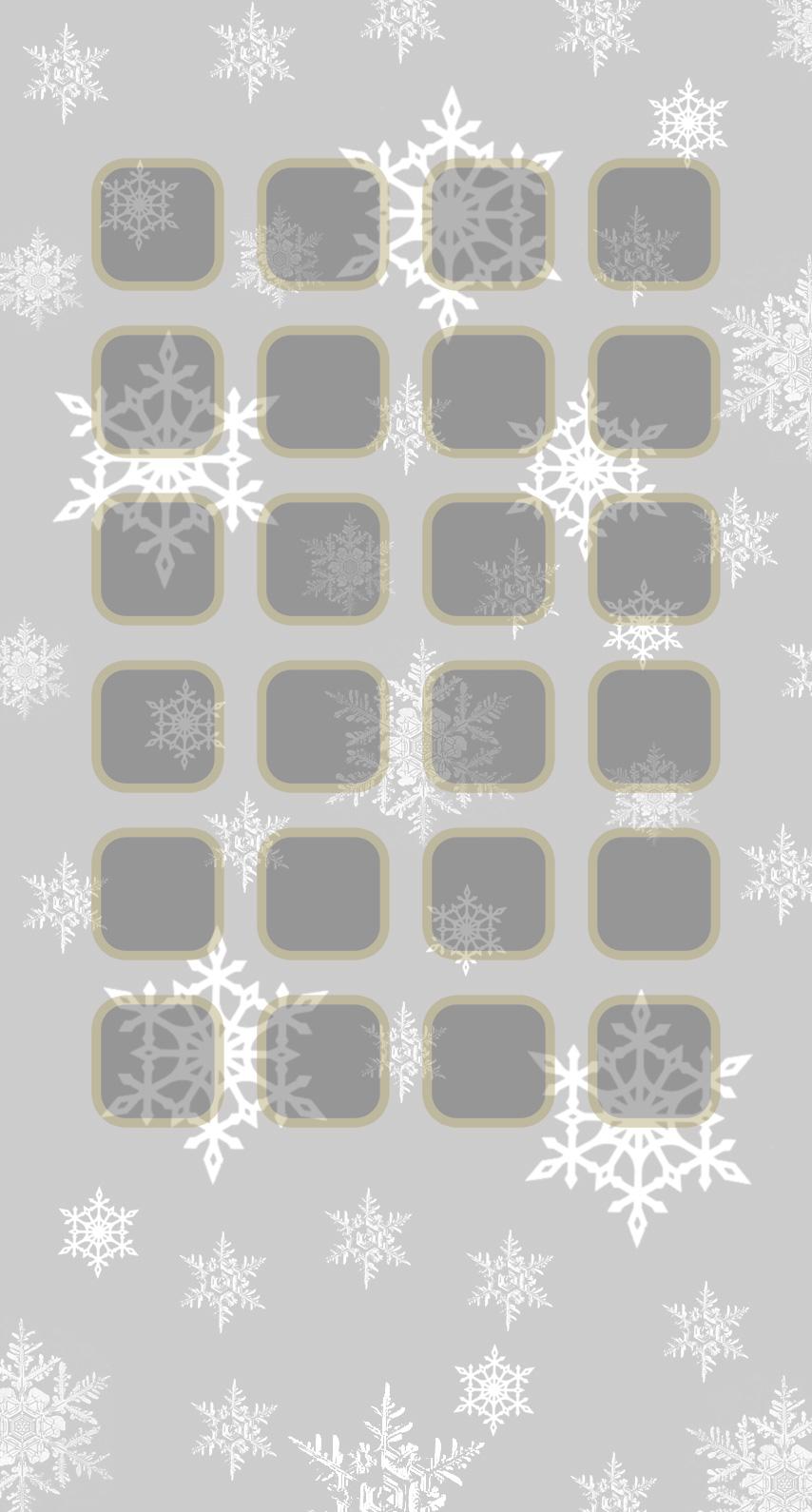 Christmas silver shelf   wallpaper.sc iPhone7
