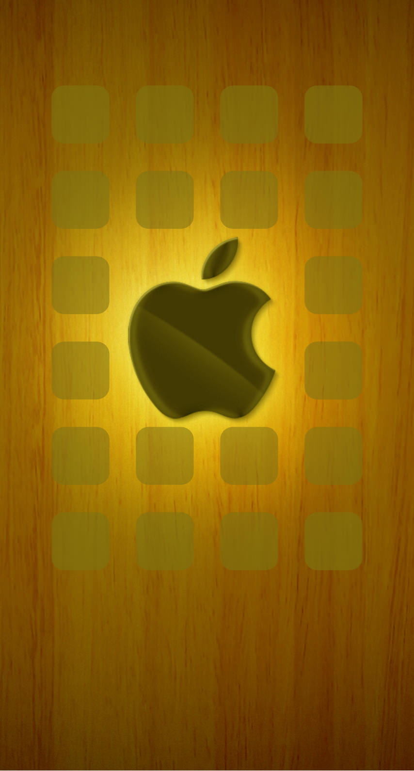 Apple Logo Shelves Brown Wallpapersc Iphone7