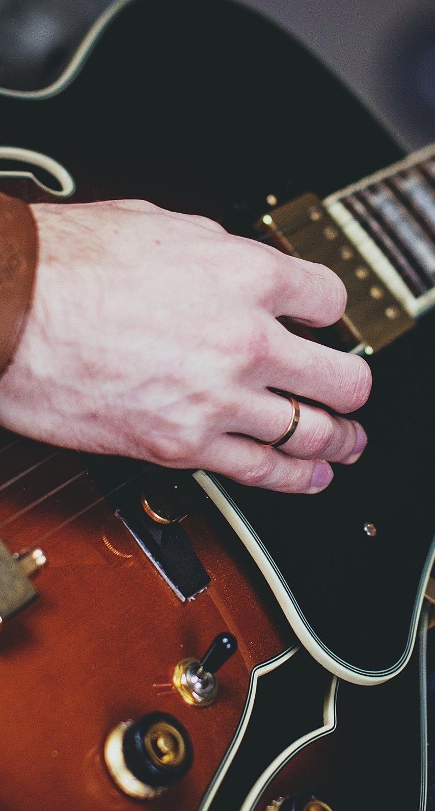 ギターとギタリスト Wallpaper Sc Iphone7壁紙