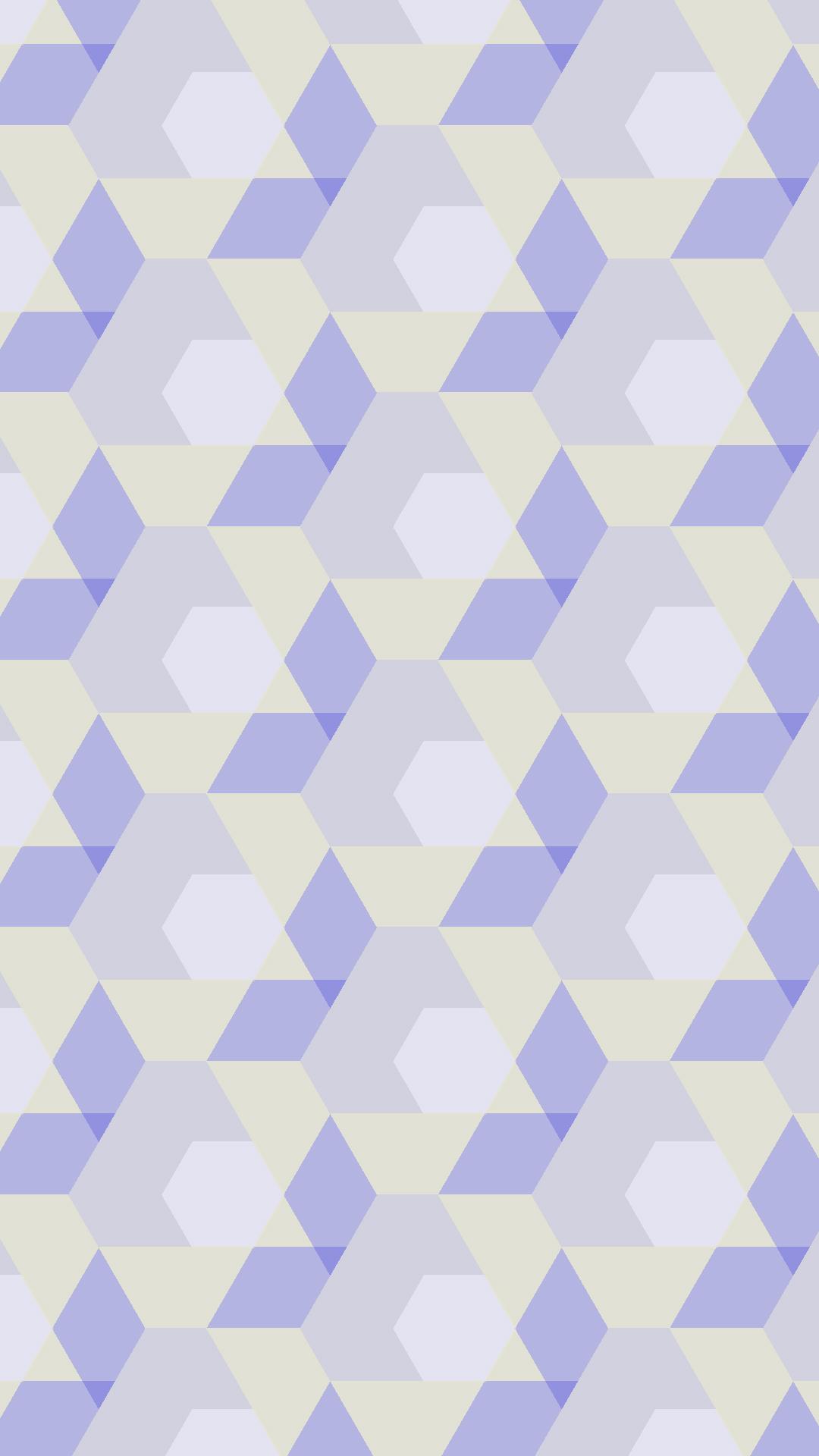 幾何学模様紫黄 Wallpaper Sc Iphone7plus壁紙
