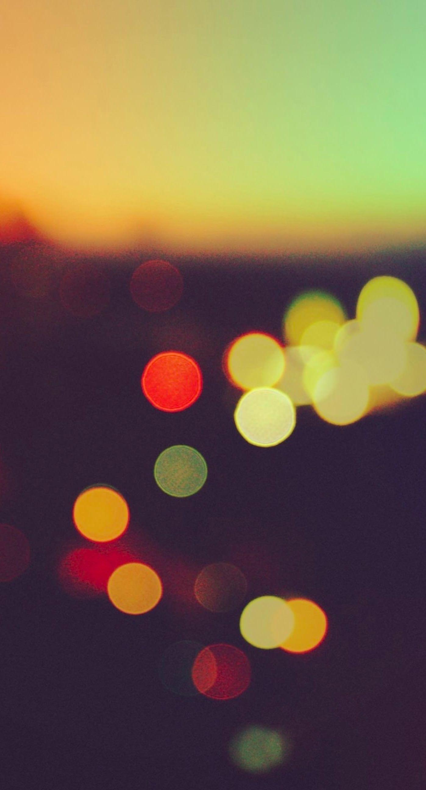 Pemandangan blur berwarna warni iphone7plus for Sfondi spettacolari hd