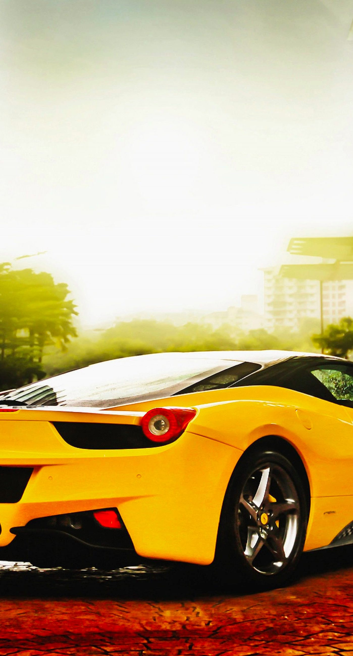 Cool Cars Yellow Wallpapersc IPhonePlus - Cool yellow cars