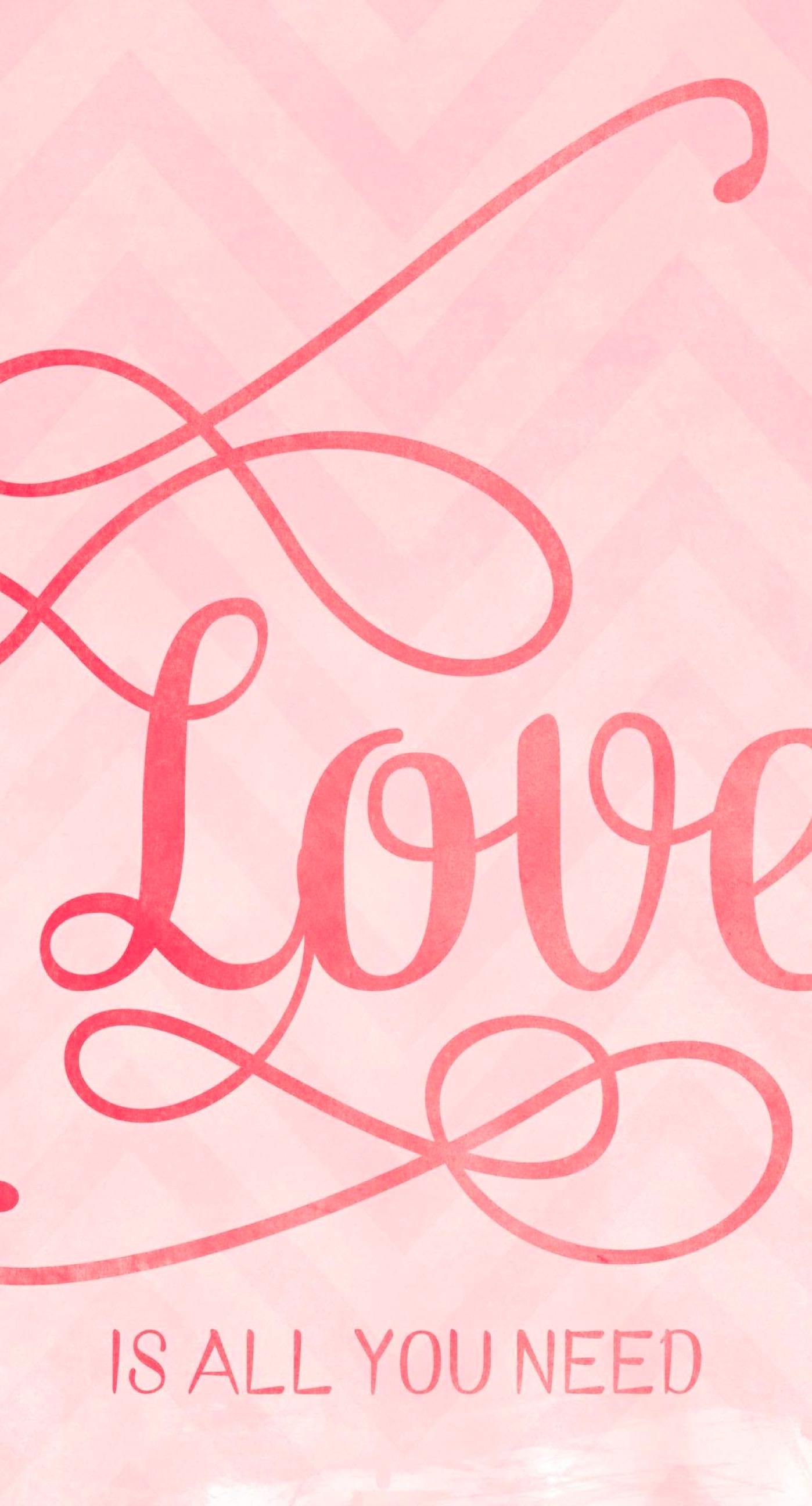 Cute Peach Love Wallpaper Sc Iphone7plus