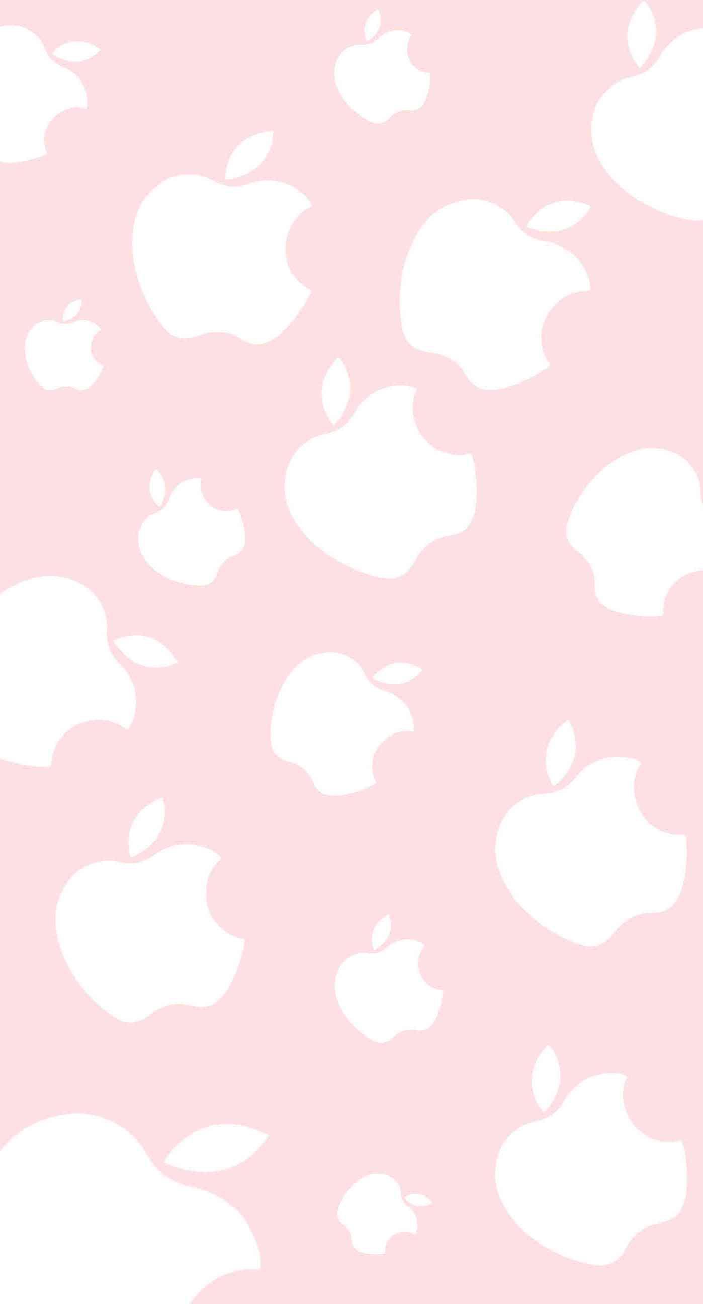 Cute Apple Peach Wallpaper Sc Iphone7plus