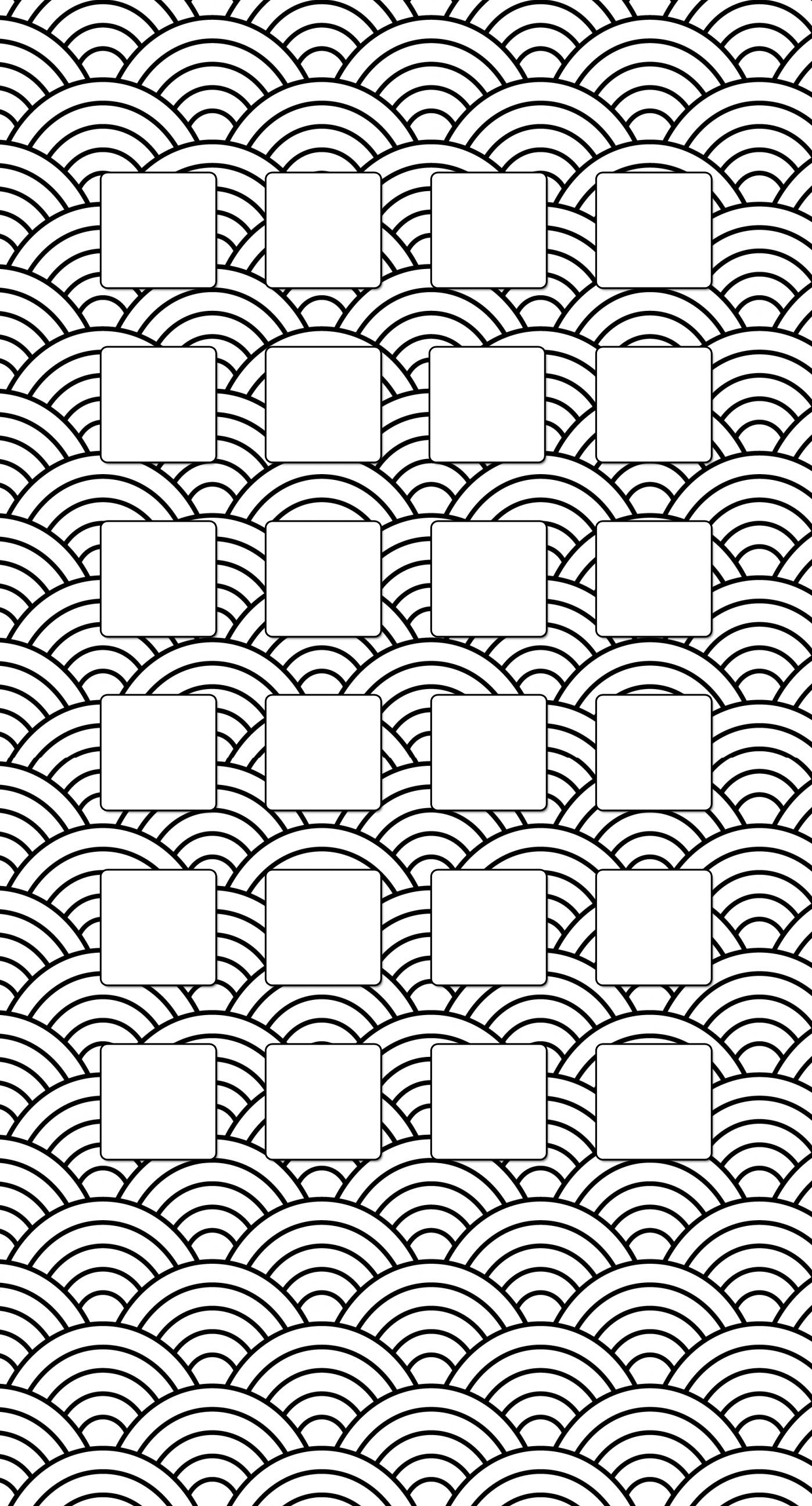 Shelf Simple New Year Spiral Black Wallpaper Sc Iphone7plus