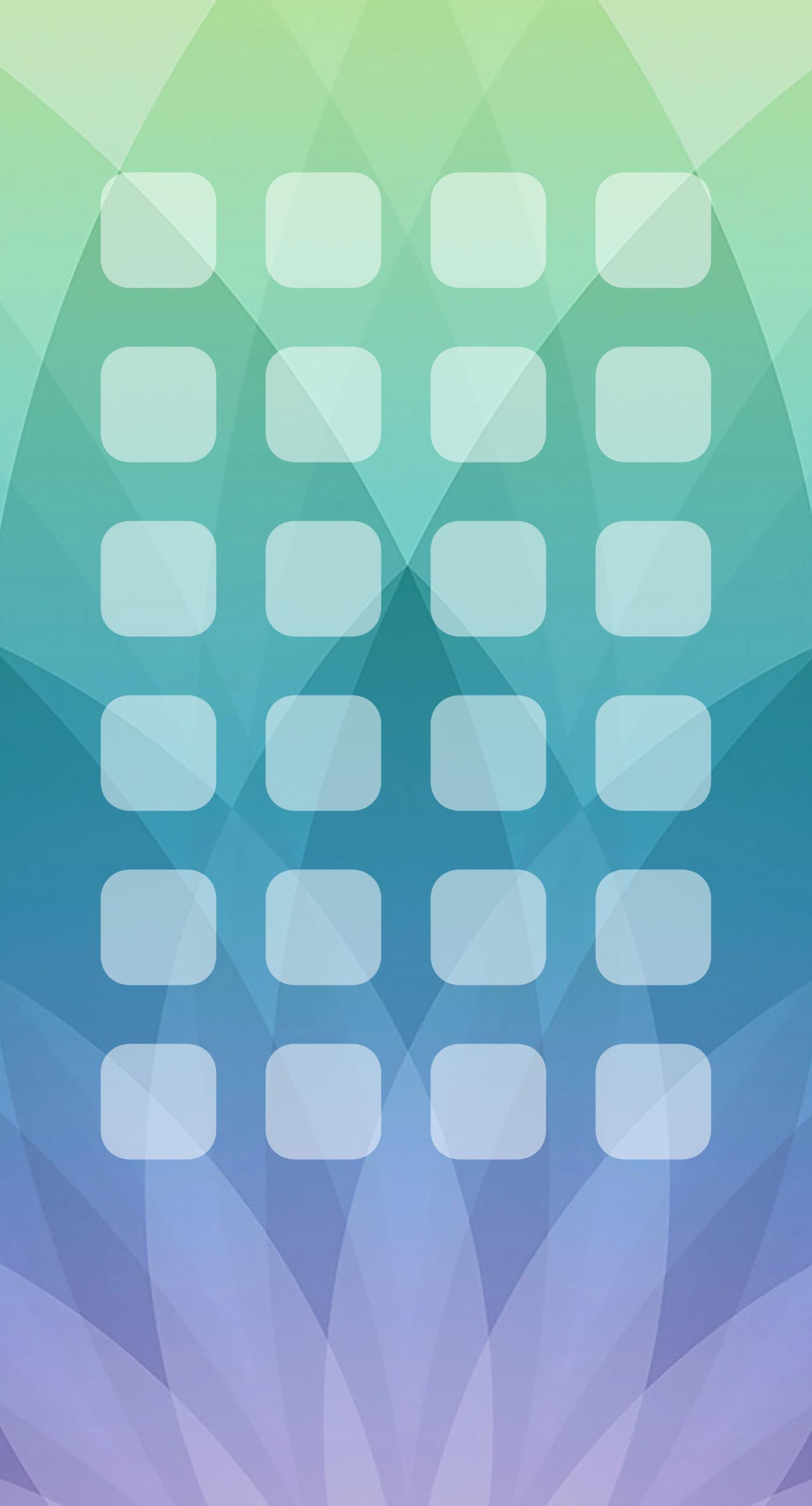 Pattern Apple Events Green Blue Purple Shelf Wallpaper Sc