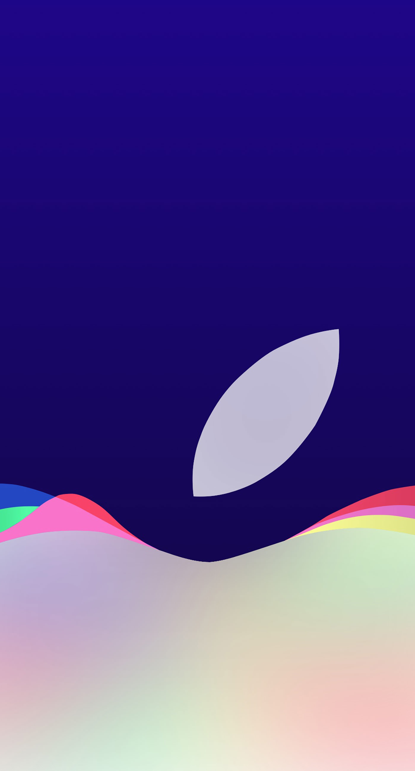 Apple Logo Event Purple Wallpapersc Iphone7plus