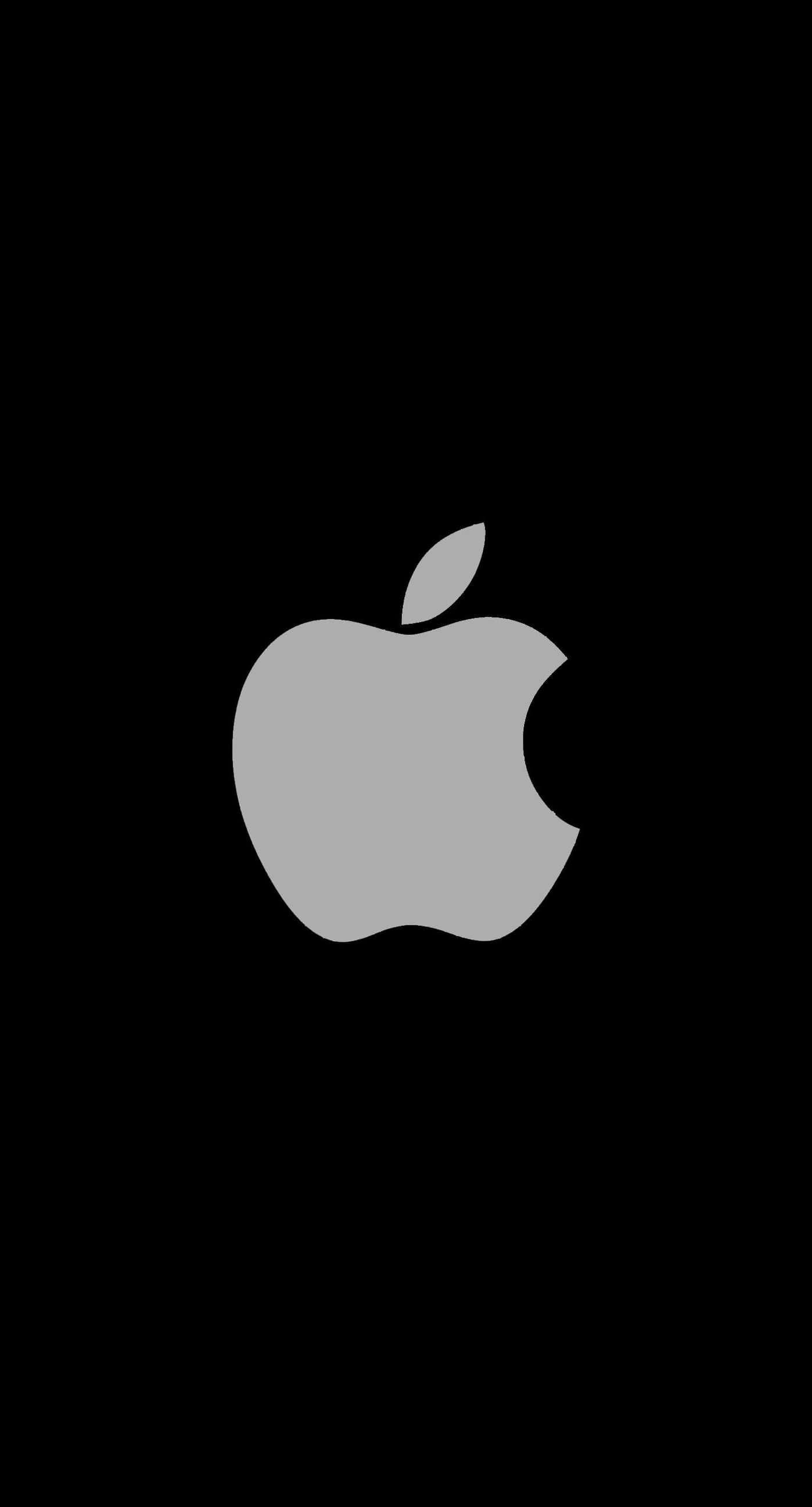 Wallpaper iphone hitam - Apple Logo Black Cool Iphone7 Plus Wallpaper